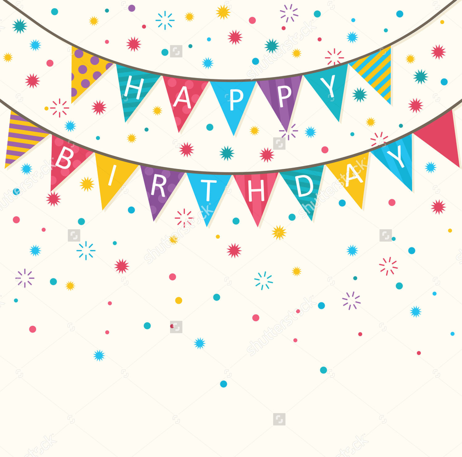 13 birthday party banners