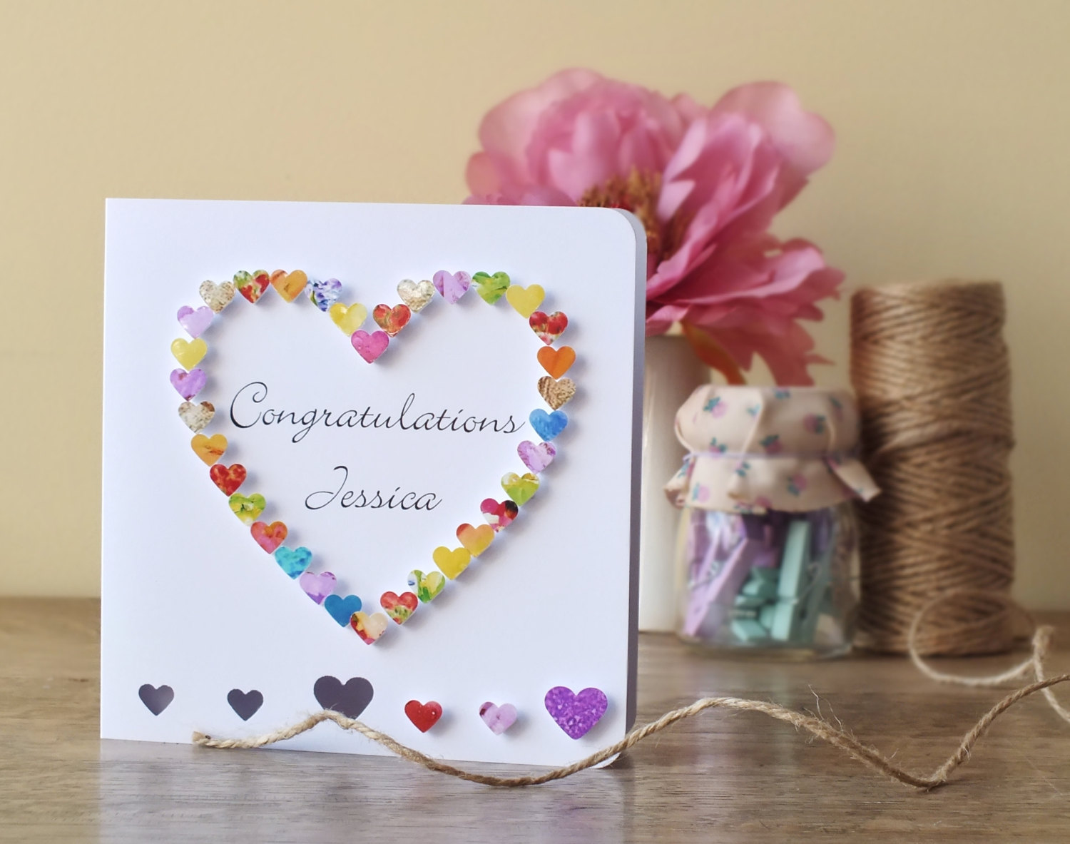 congratulation baby card