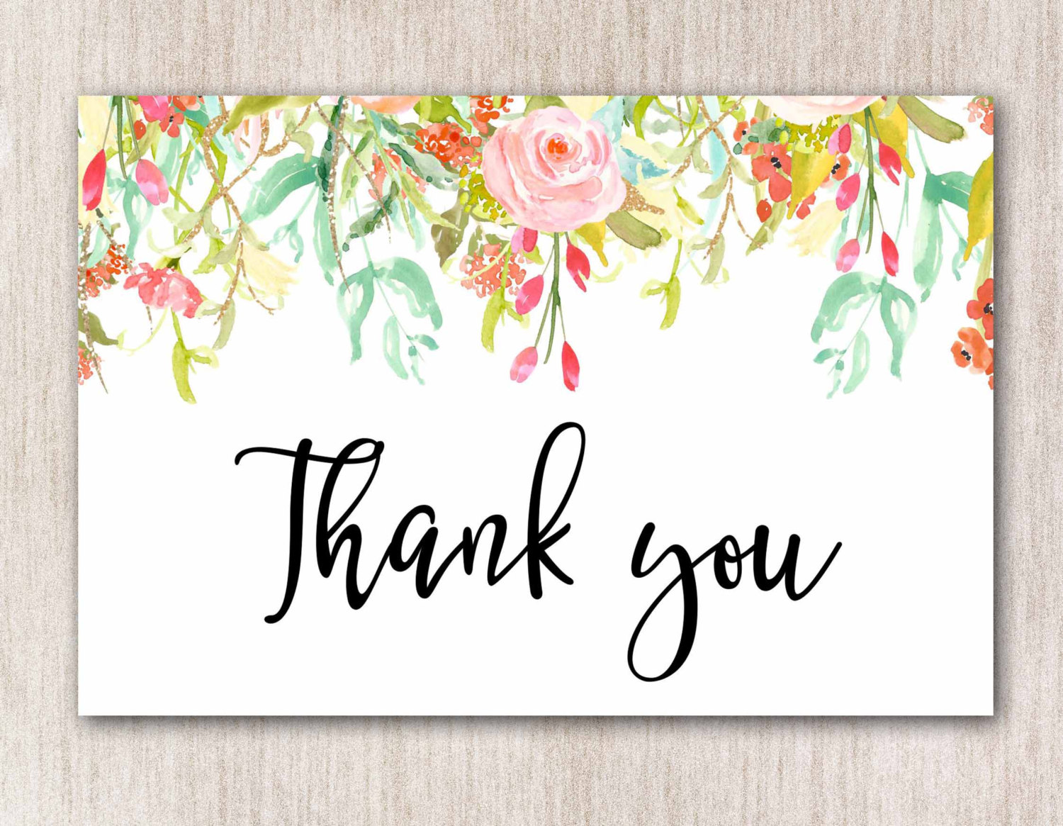 10 Blank Thank You Cards  Design Trends  Premium PSD Vector Downloads
