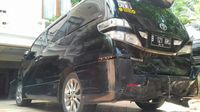 Tabrak 4 Mobil, Penampakan Vellfire yang Dikemudikan Anak Eks Menteri Sugiharto