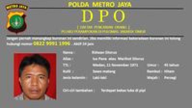 Polda Metro Jaya Tetapkan Ridwan Sitorus Jadi DPO