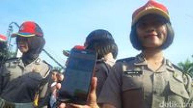 Kapolri Luncurkan Aplikasi Pelayanan Online Kepolisian di Medan