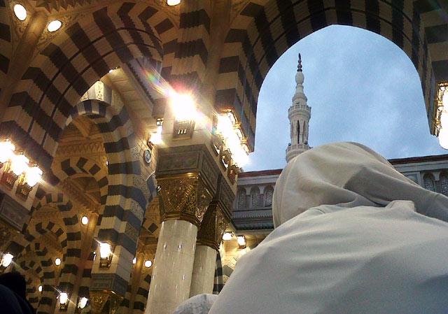 Kubah Masjid Nabawi  Kubah Masjid