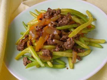 Resep Sayuran: Ca Buncis Kuning dan Daging