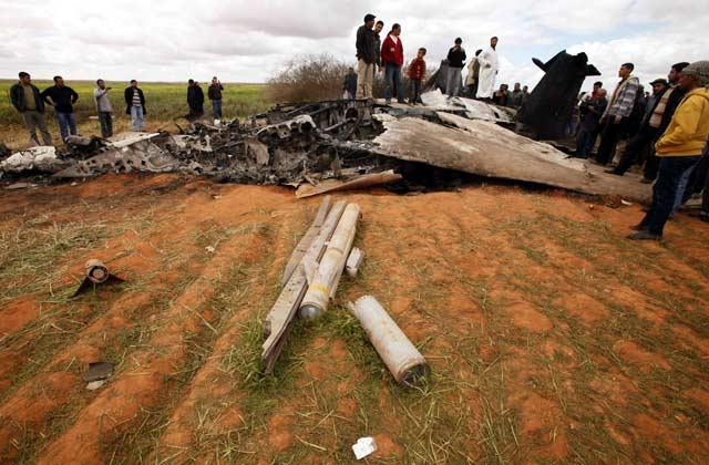 Pesawat Tempur AS Jatuh di Libya