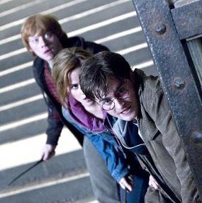 Transformasi Harry Potter, Hermione, dan Ron Weasley