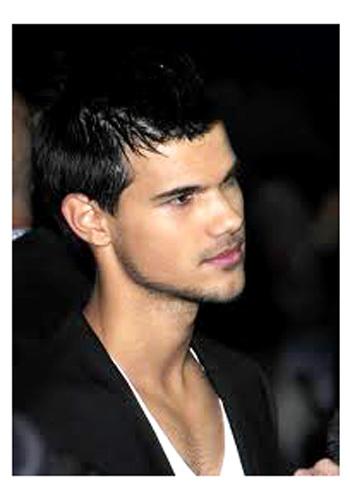 Gaya Rambut Pria Taylor Lautner Style