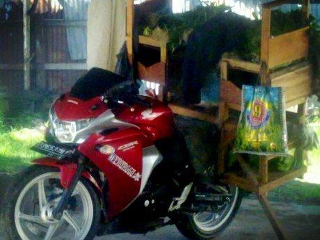 Tukang Sayur Kalau Udah Tajir Jualannya Pakai Motor CBR250R