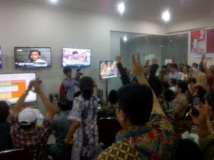 KPU secara resmi telah menetapkan Jokowi-JK sebagai Presiden dan Wakil Presiden Republik Indonesia 2014-2019