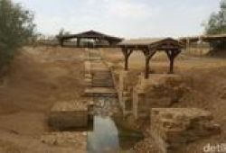Berkunjung Ke Baptism Site, Tempat Pembaptisan Yesus Di Yordania
