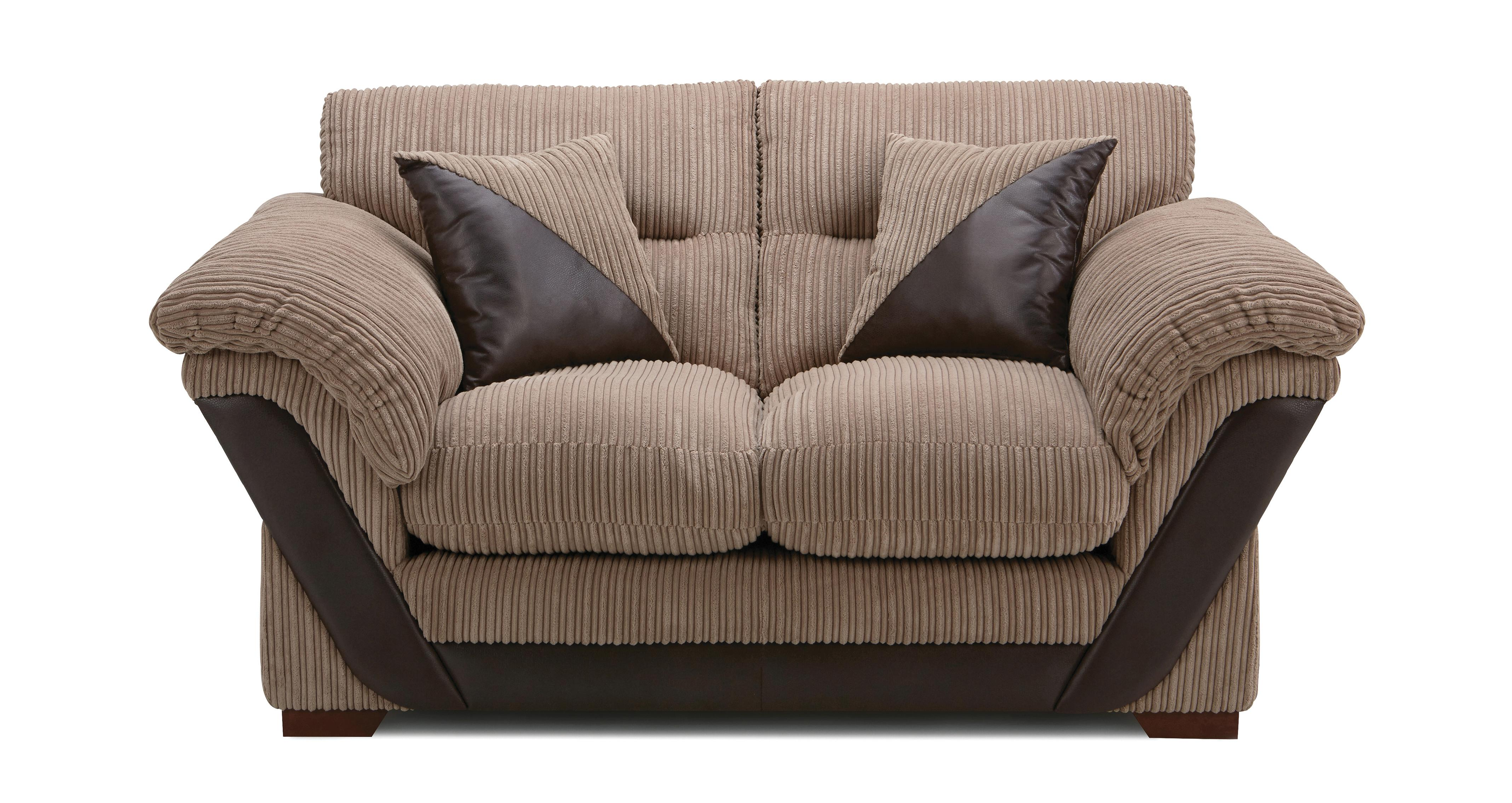 small 2 seater sofa friheten bed with chaise leather arthur samson dfs