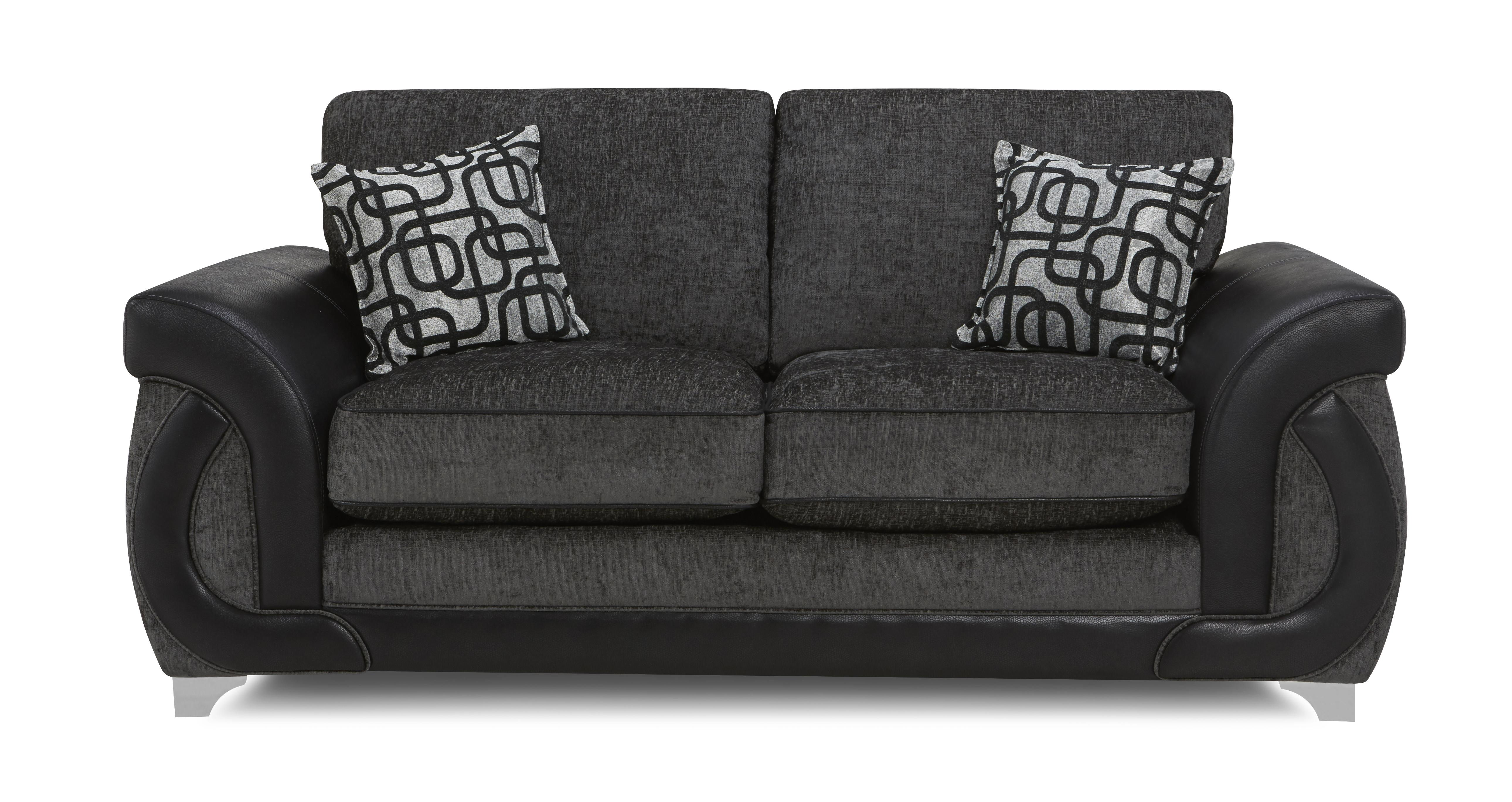 dfs recliner sofa bed kirby vacuum bellini charcoal large 2 seater formal back deluxe