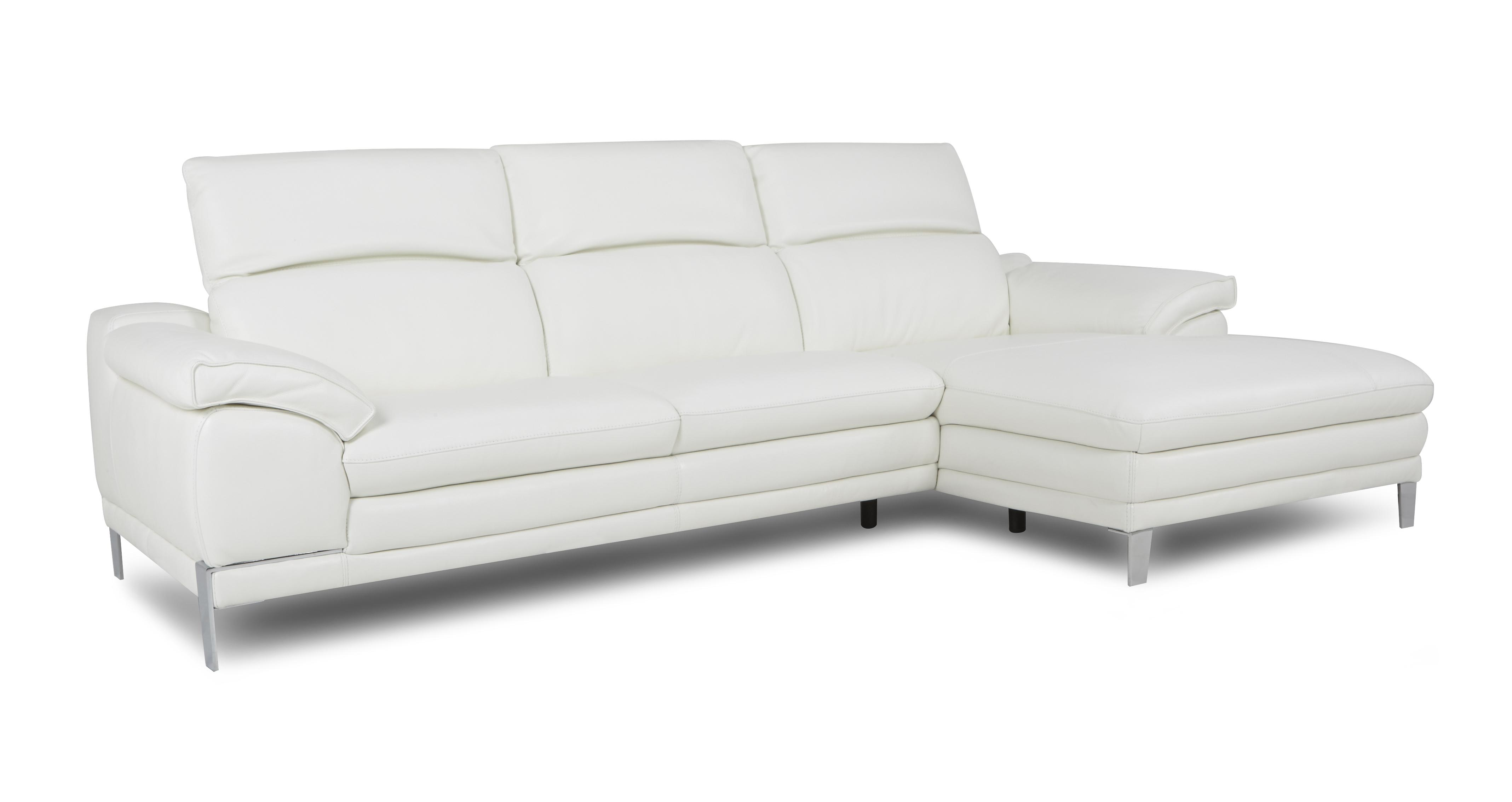 large chaise sofa dfs thomasville slipcovers corso option a right hand facing end new