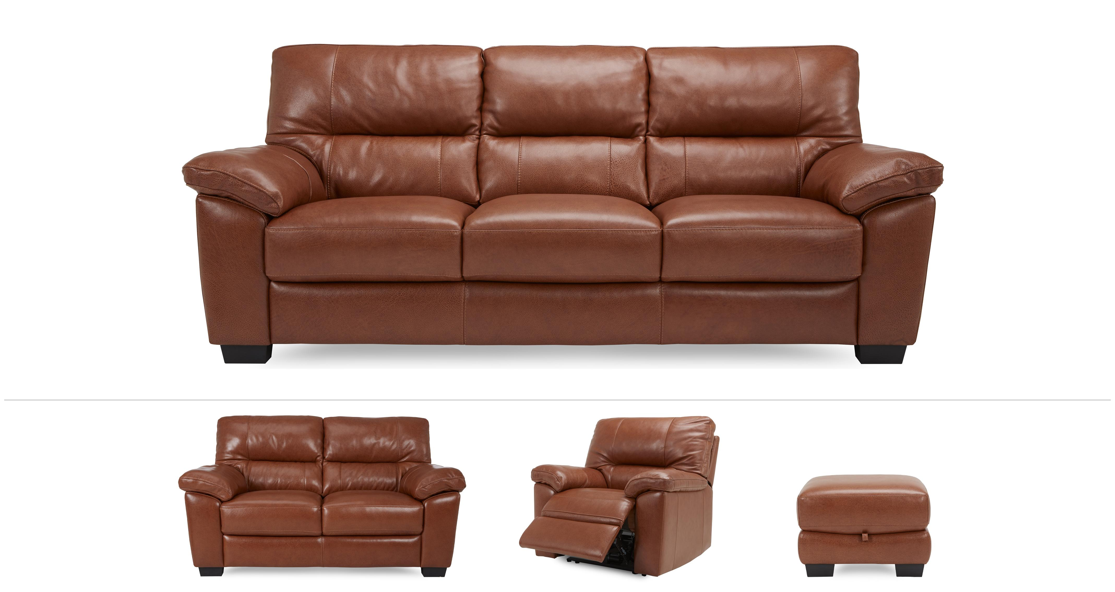 Dalmore Clearance 3 & 2 Seater Sofa, Power Chair & Stool