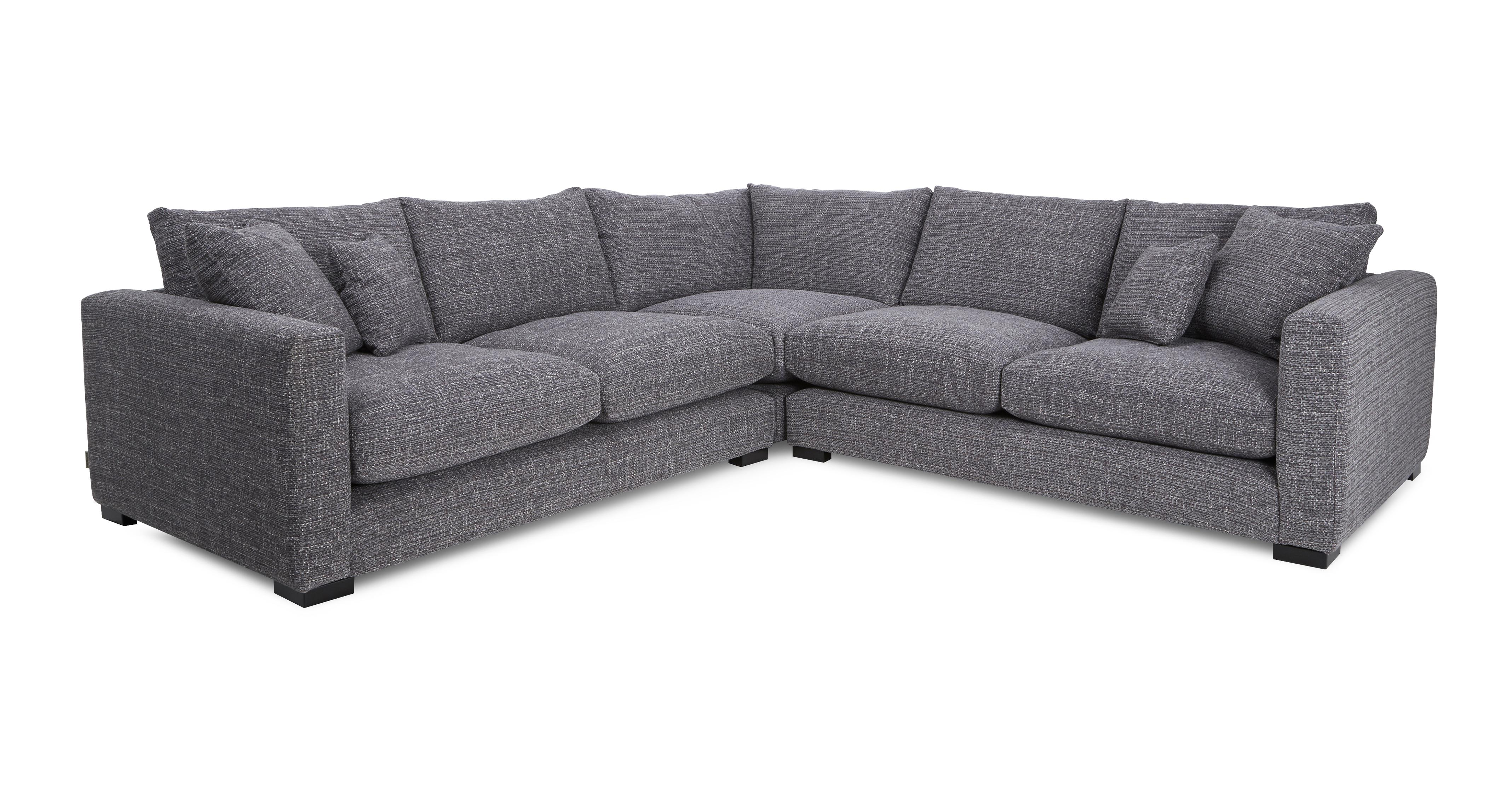 grey leather corner sofa dfs platform sofas brokeasshome