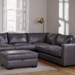 Large Dark Grey Corner Sofa Dalton With Storage Chaise Ottoman Leather Sofas In A Range Of Great Styles Dfs Winter Sale Dillon Small