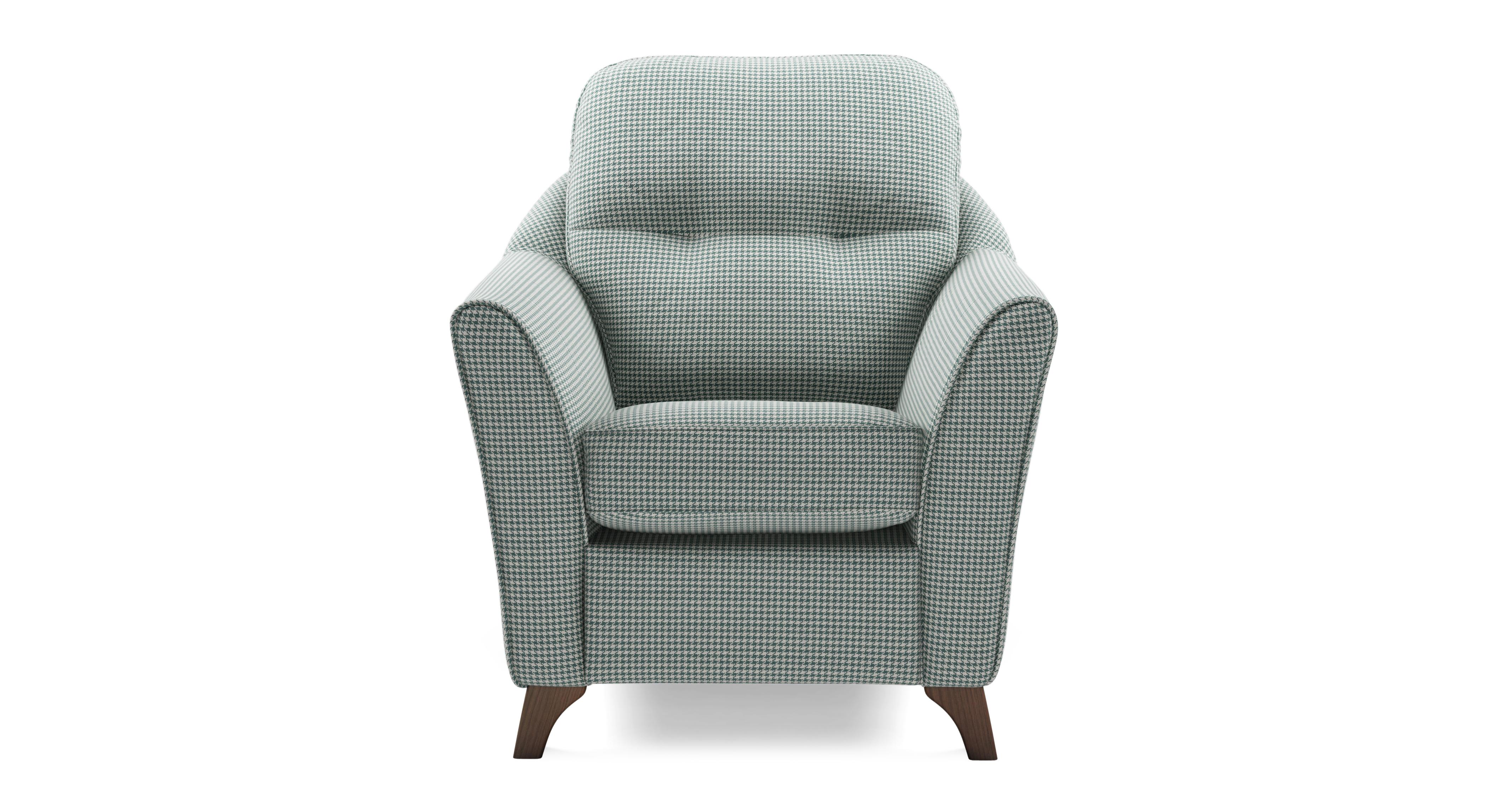 Docklands Pattern Accent Chair Ergo Accent Dfs