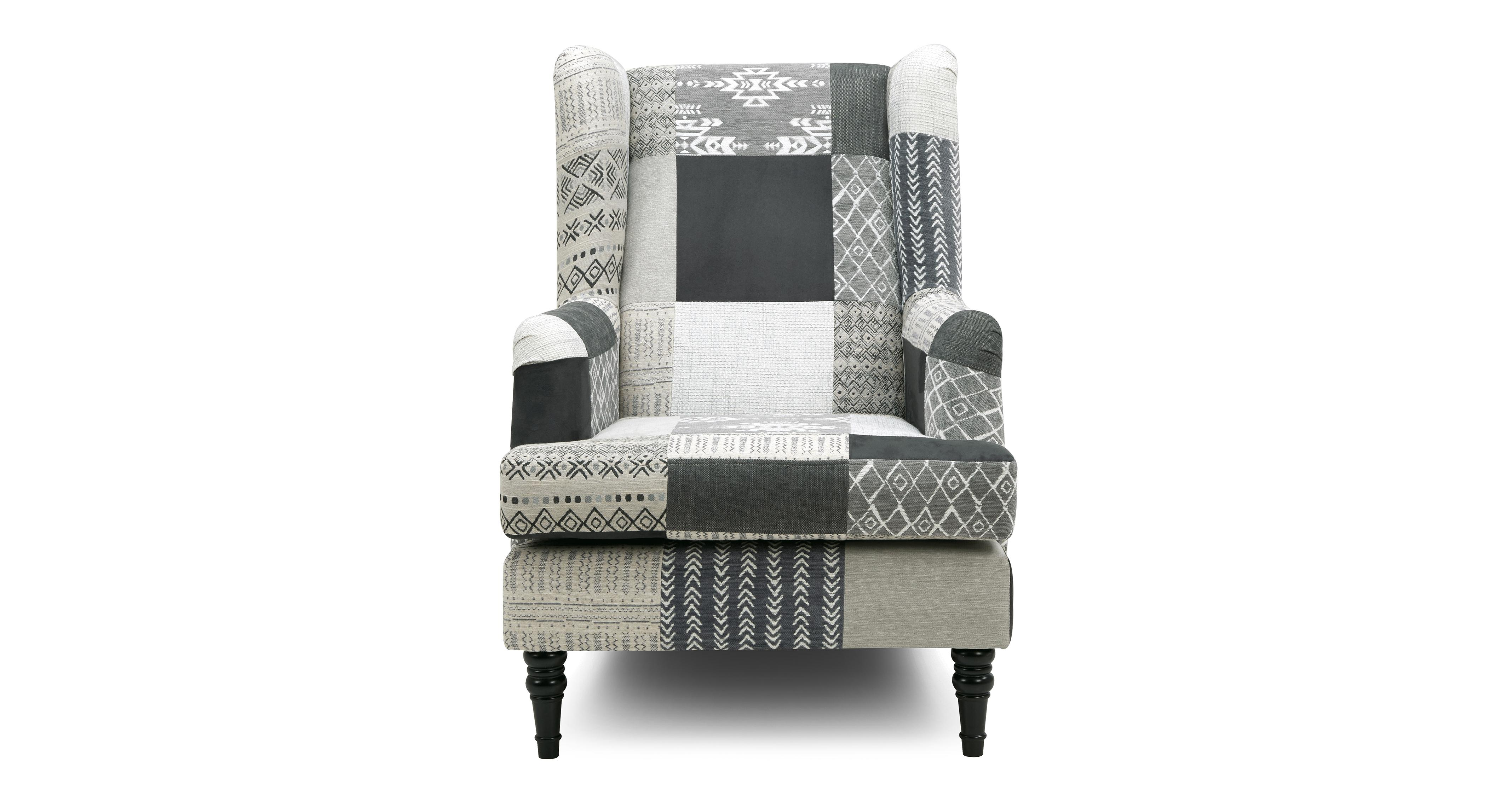 Wing Chair Earle Patch High Back Wing Chair