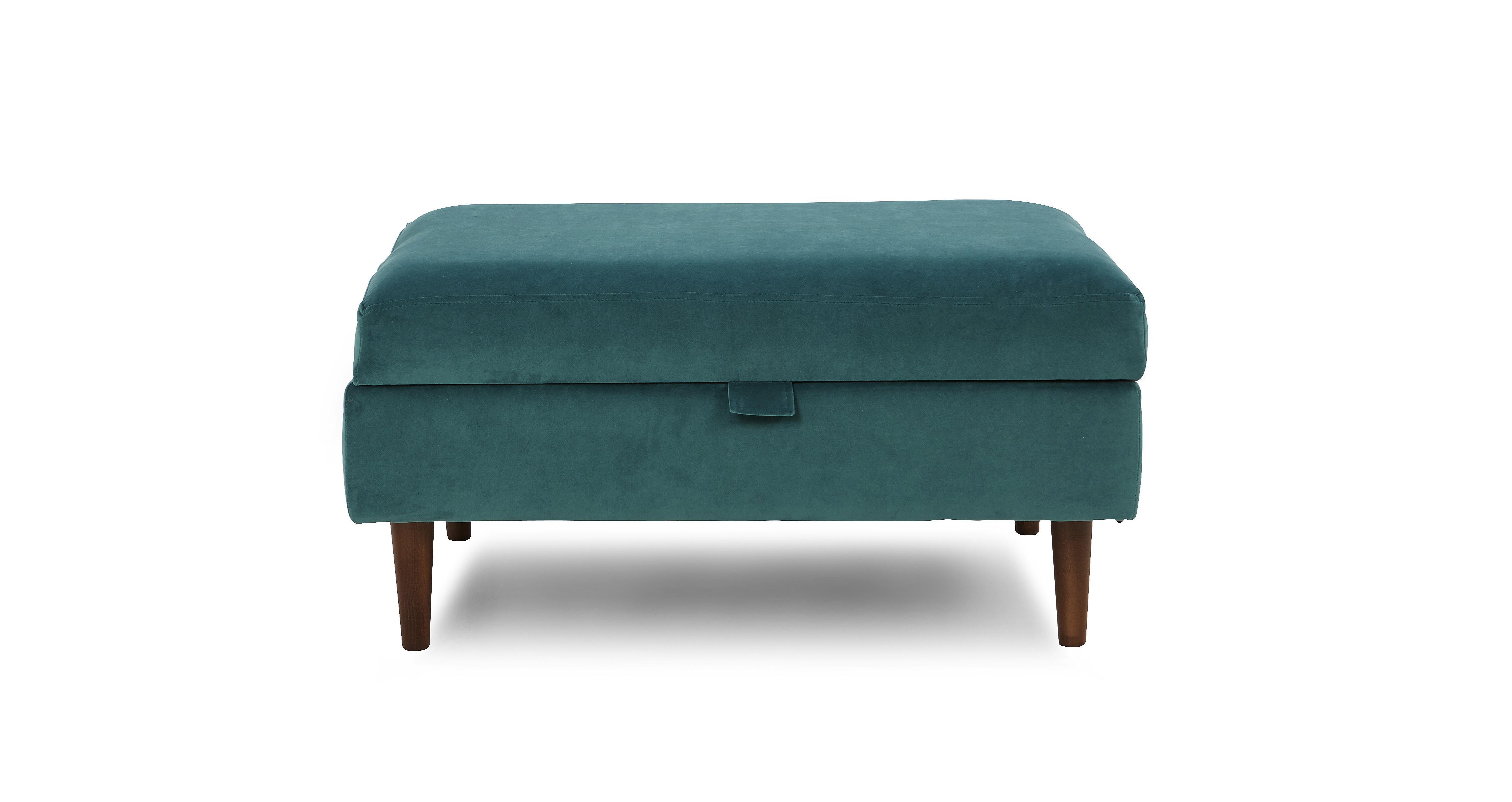 dfs sofa reviews 2018 furniture design eden banquette storage footstool luxe velvet  