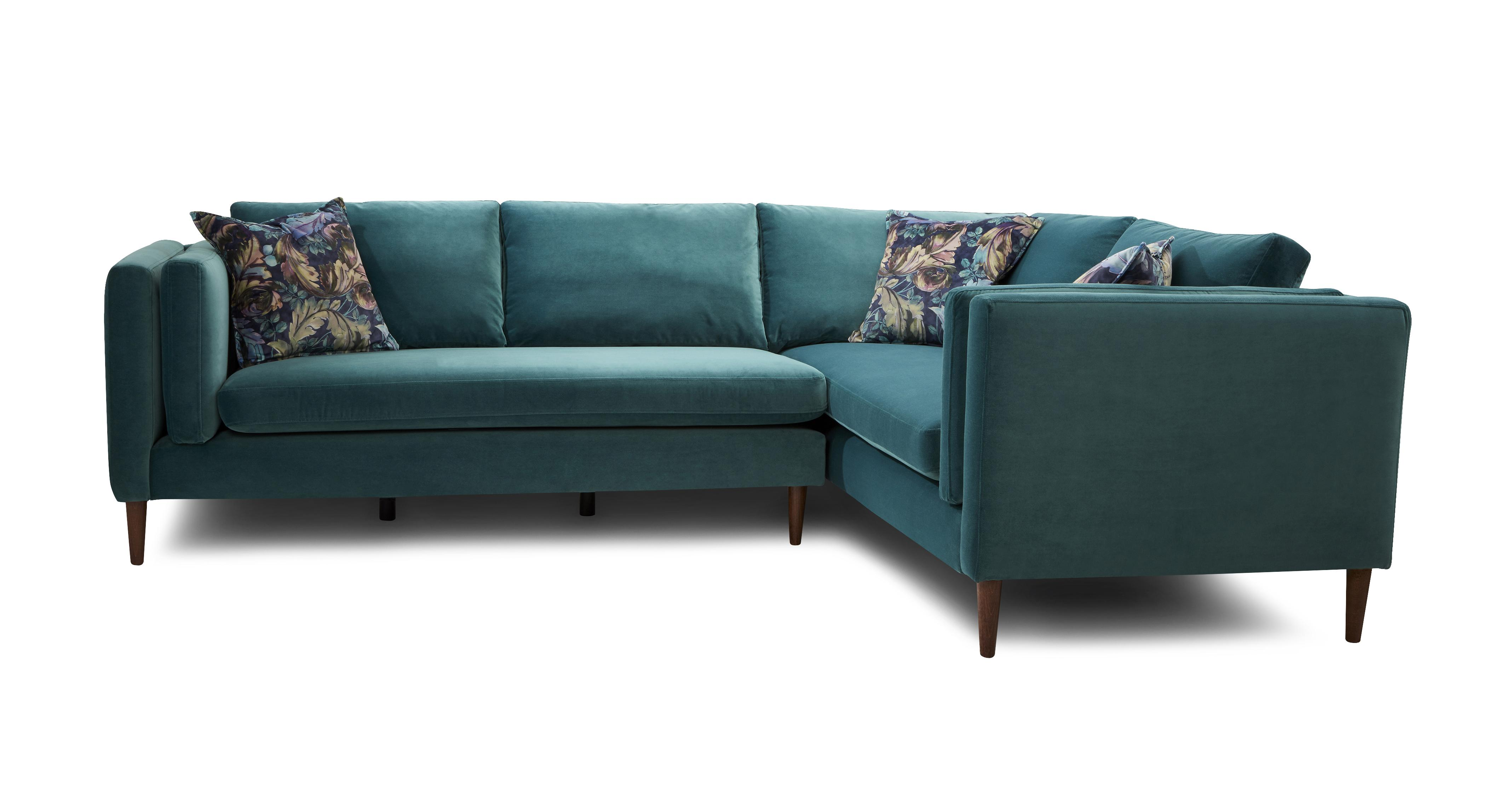 aqua sofa what is the best quality sleeper eden large luxe velvet dfs