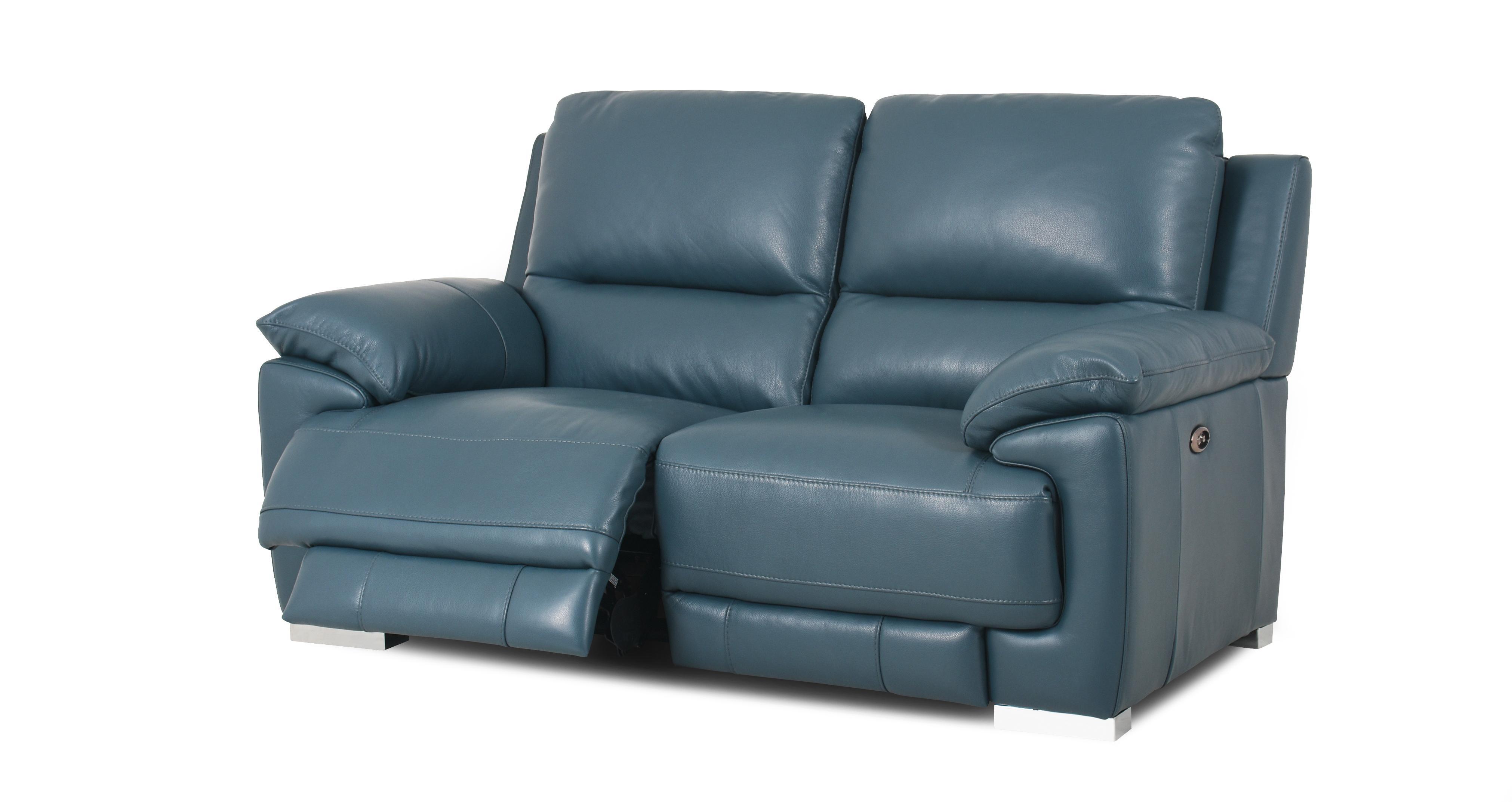 2 seater power recliner sofa big comfy corner sofas falcon new club dfs