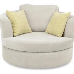 Revolving Chair With Net Faux Leather Covers Swivel Sofa Chairs Energywarden