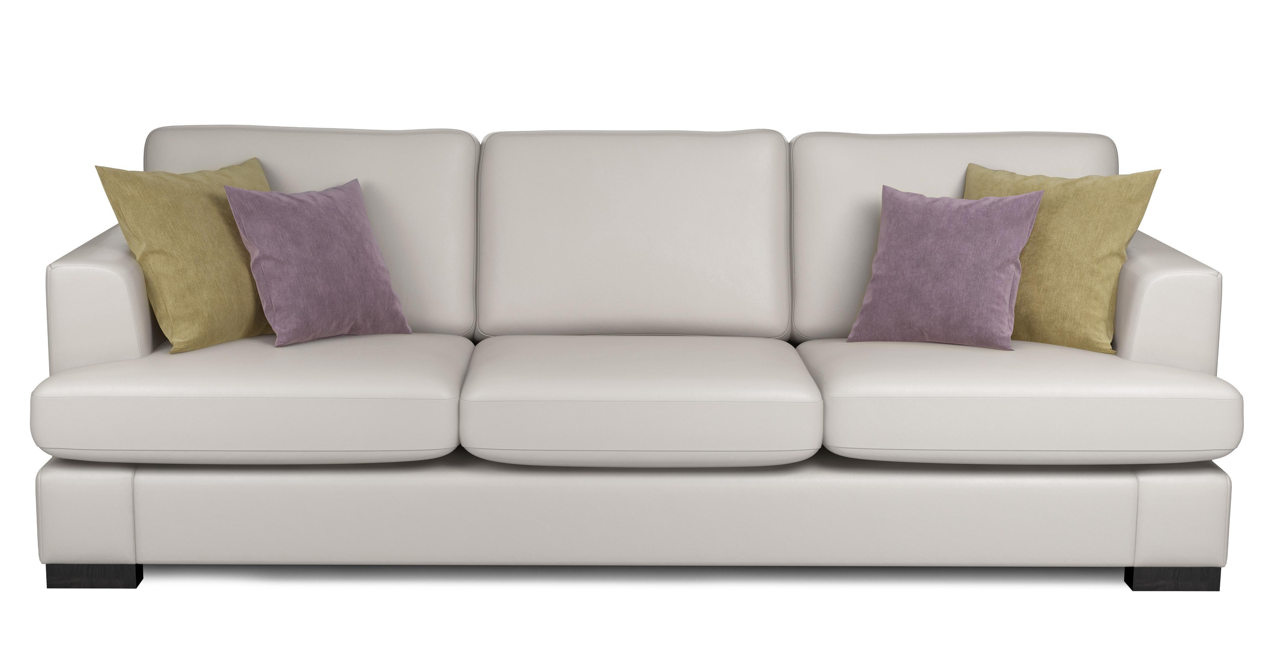 Freya Leather 4 Seater Sofa Beau DFS