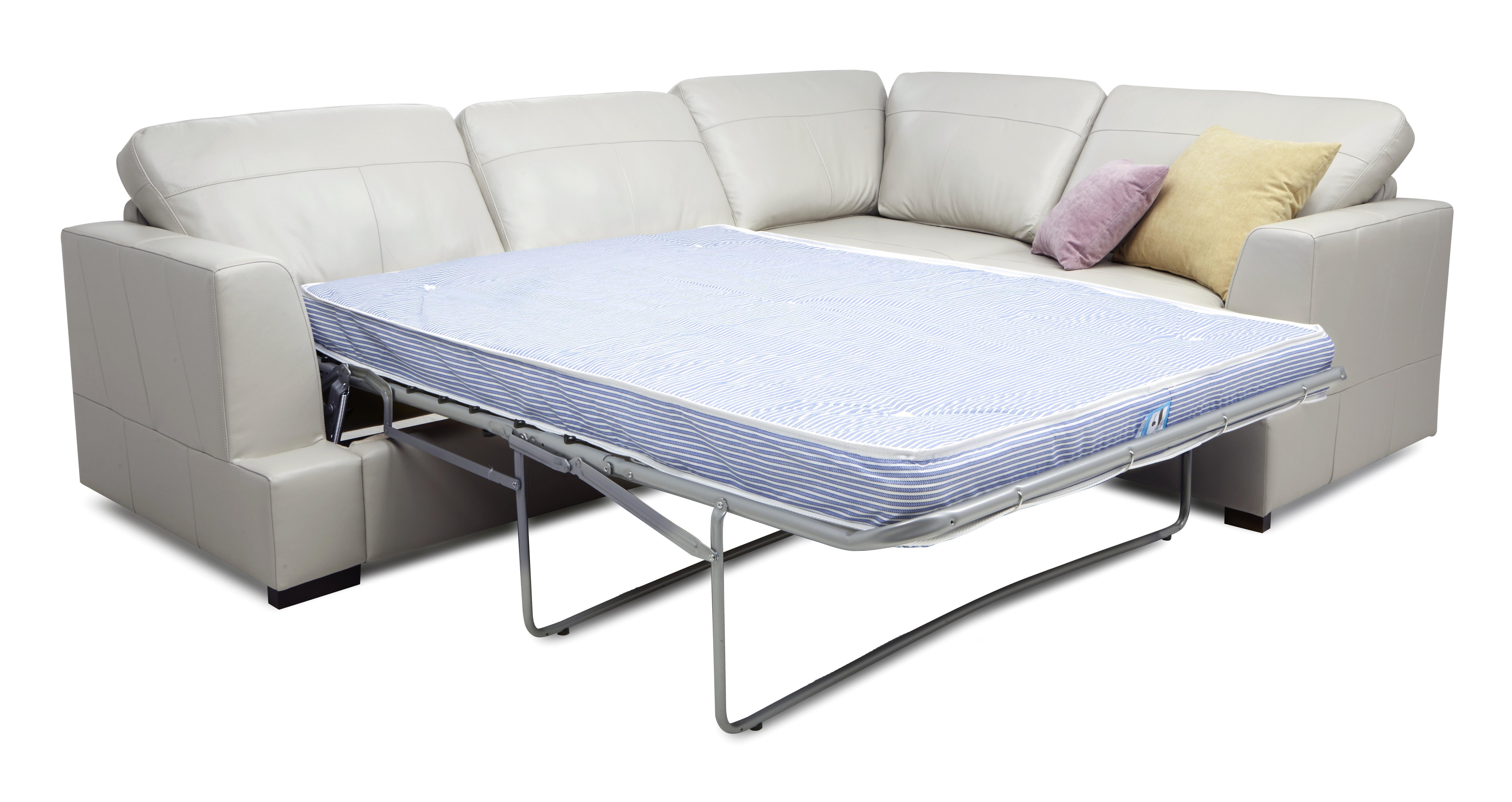 felix leather lh corner chaise sofa bed sectional ottawa dfs freya brokeasshome