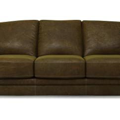 3 Seater Leather Sofa Dfs Orange Brown Giovanna Camel Natural Ebay