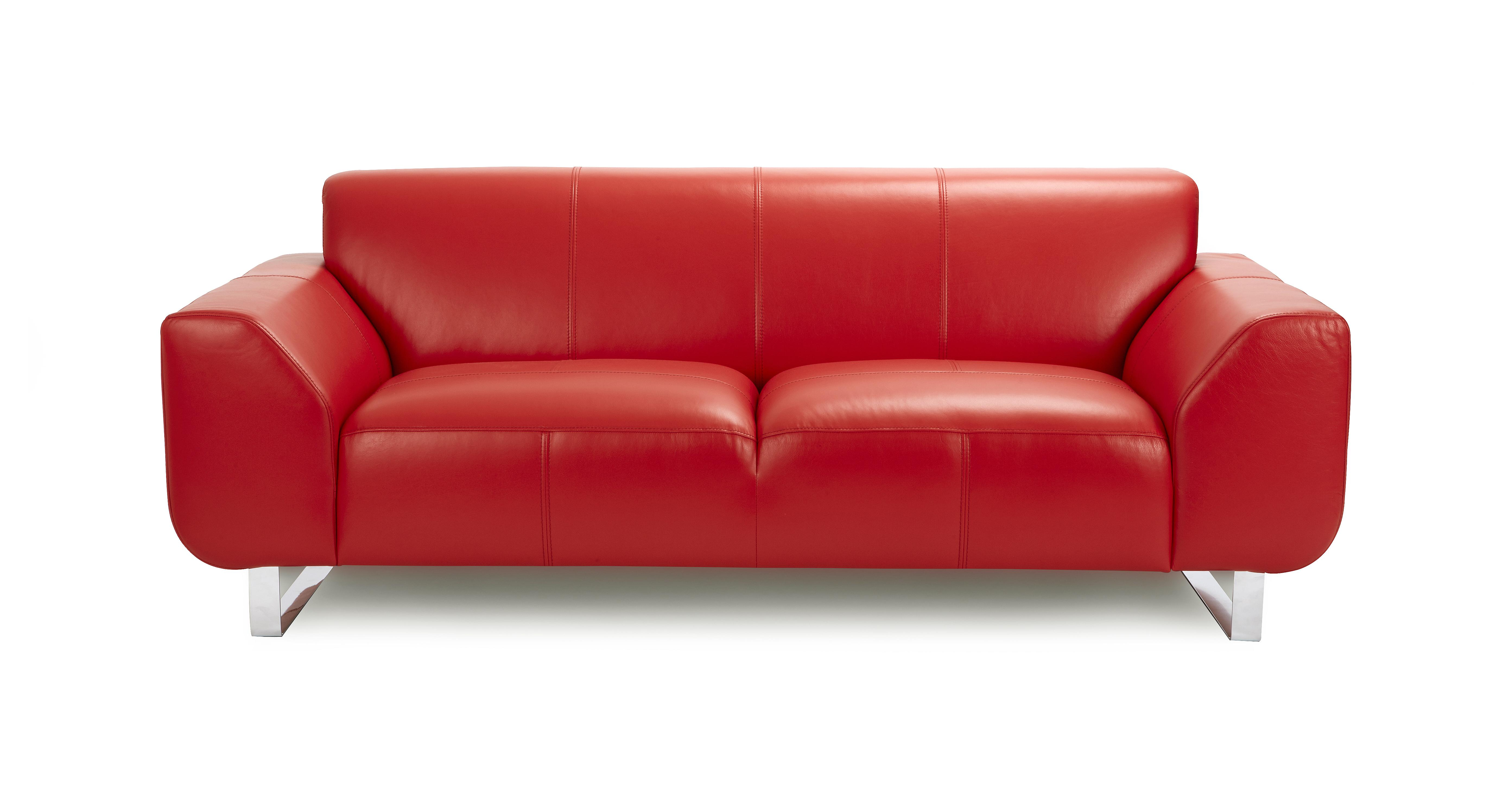 red leather two seater sofa to bed hardy 2 brooke dfs ireland 100