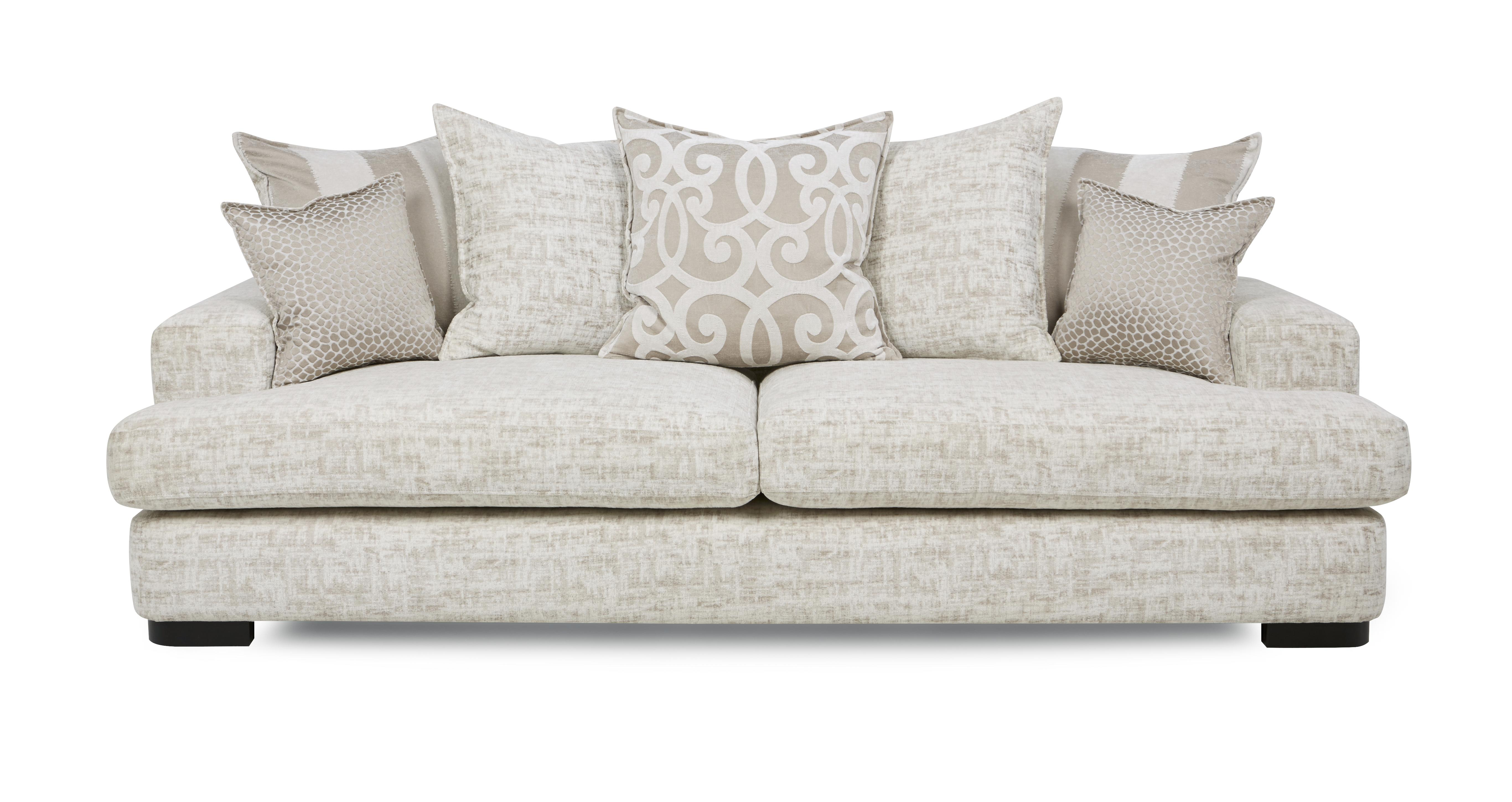 Indulge 4 Seater Pillow Back Sofa  DFS