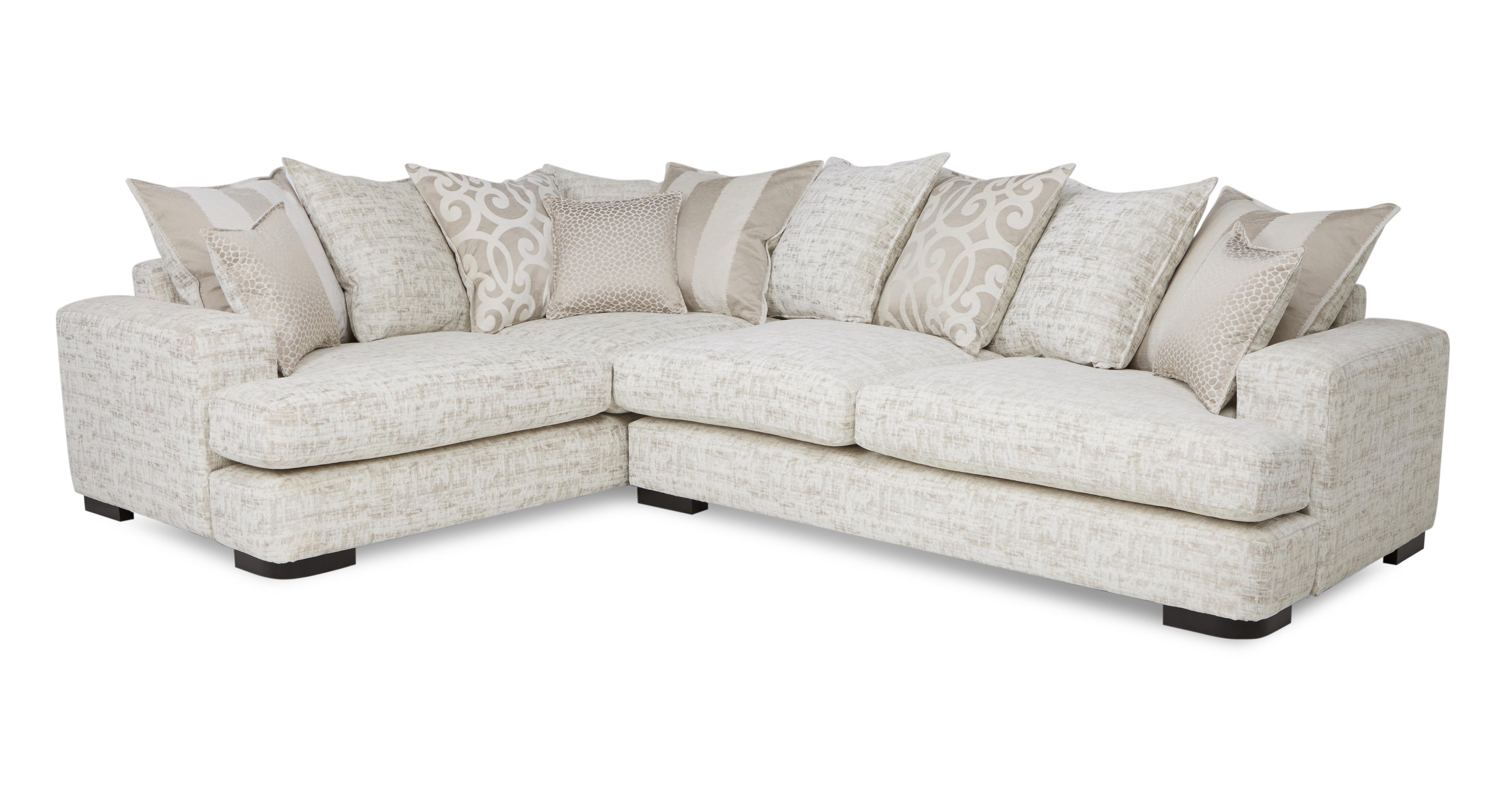 Indulge Right Hand Facing 3 Seater Pillow Back Corner Sofa