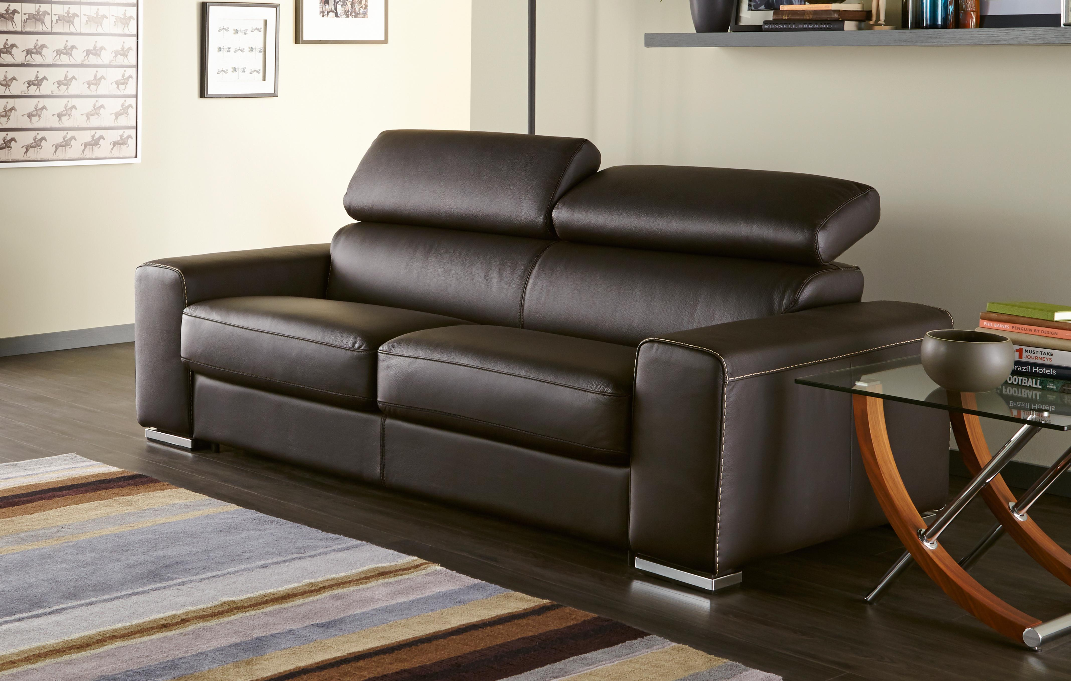 dfs leather sofa bed brown match full sleeper reclining sectional 3 seater brokeasshome