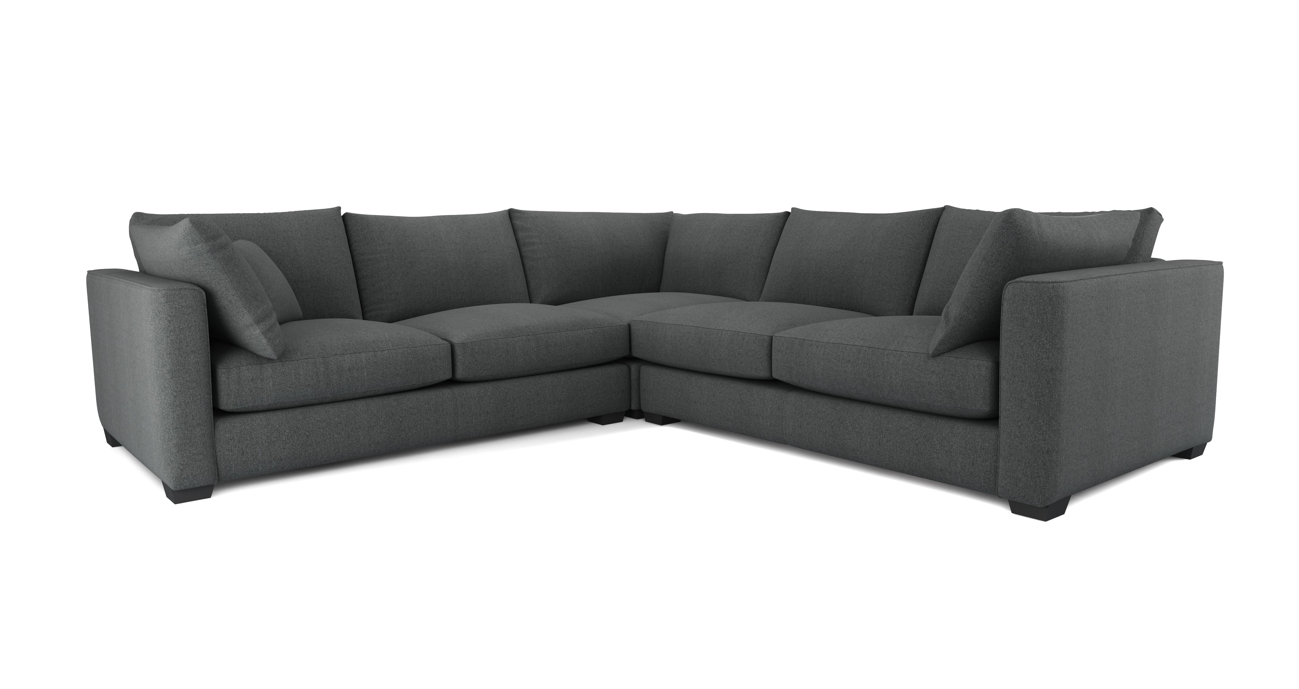 keaton small corner sofa