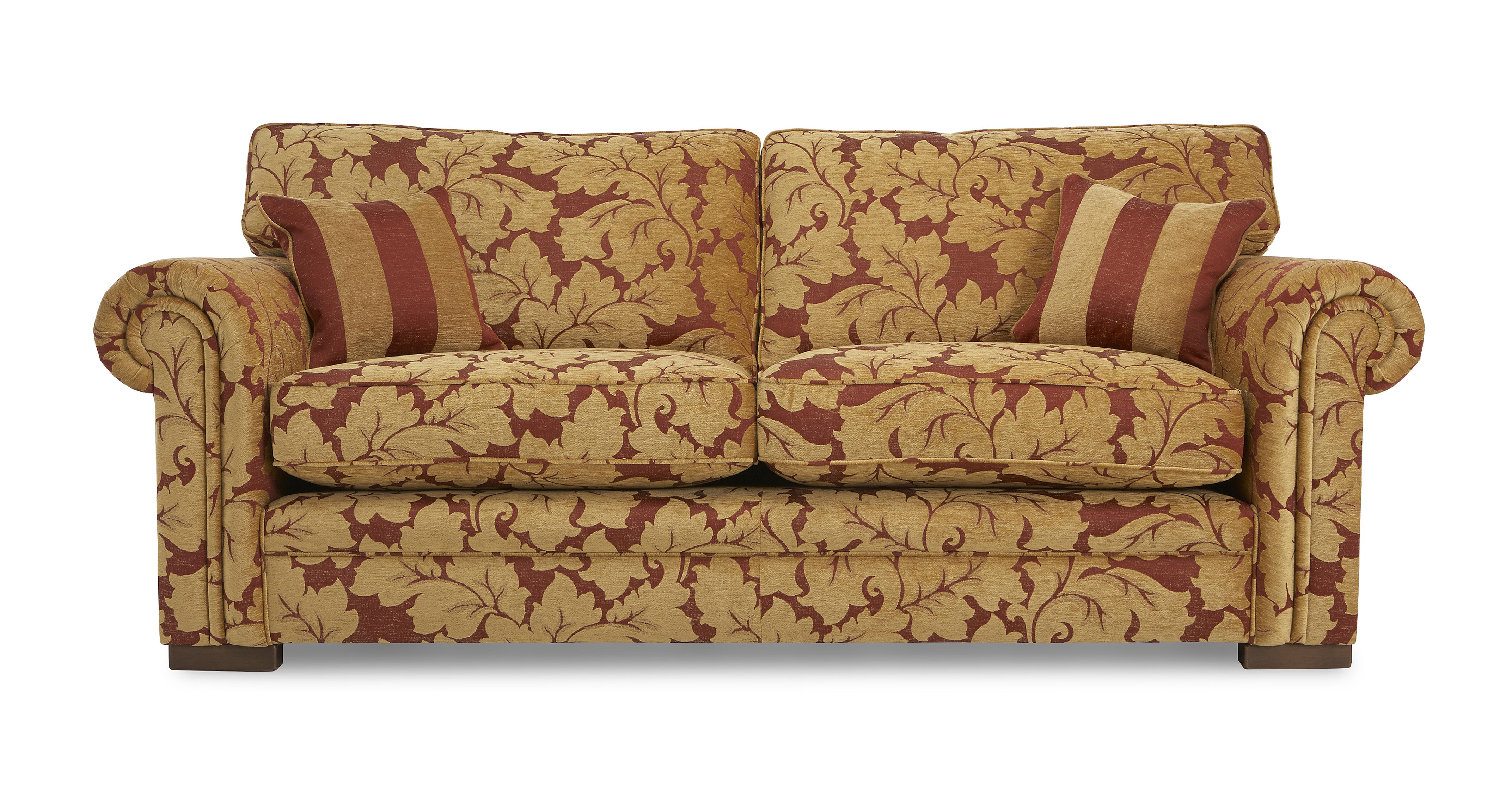 floral sectional sofa corner coffee table ideas landseer 3 seater dfs