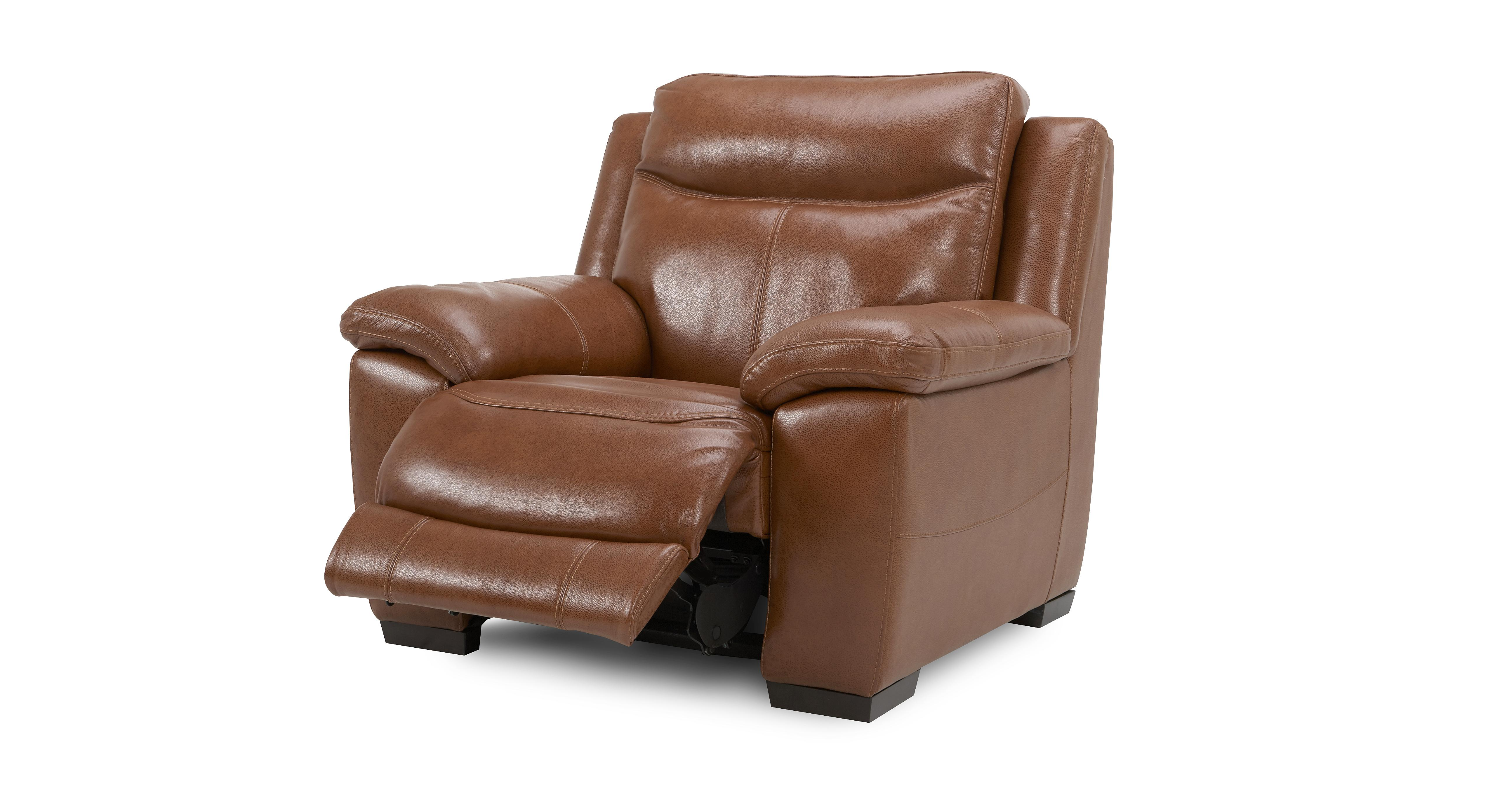 Electric Reclining Chair Liaison Electric Recliner Chair Brazil With Leather Look