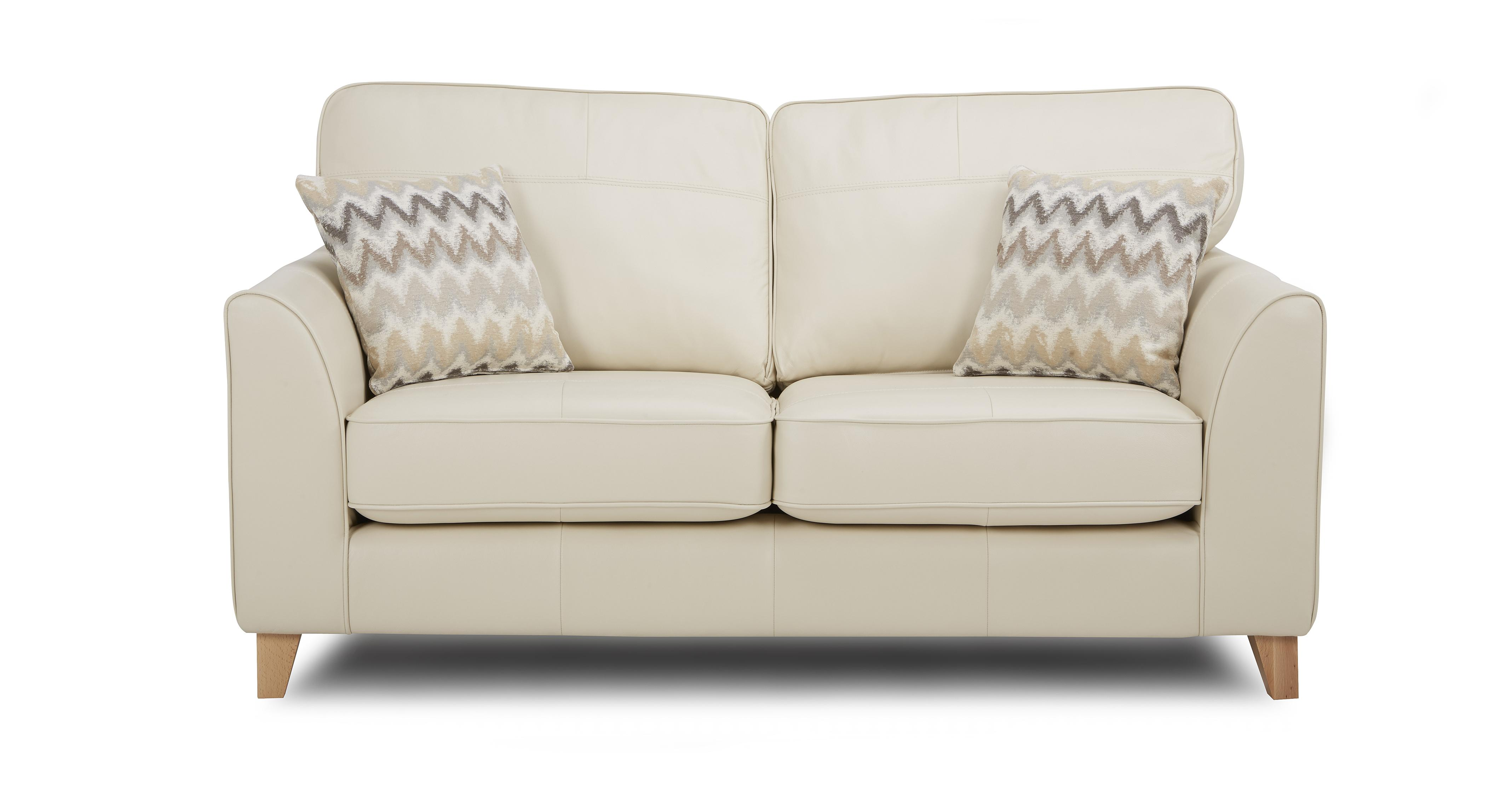 cream soft fabric sofa sears whole home beds 2 seater brokeasshome