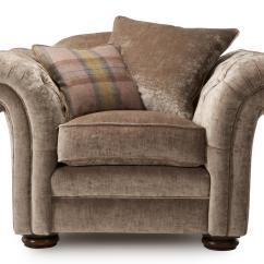 Armchair Pillow Cedar Adirondack Chairs Loch Leven Back Dfs