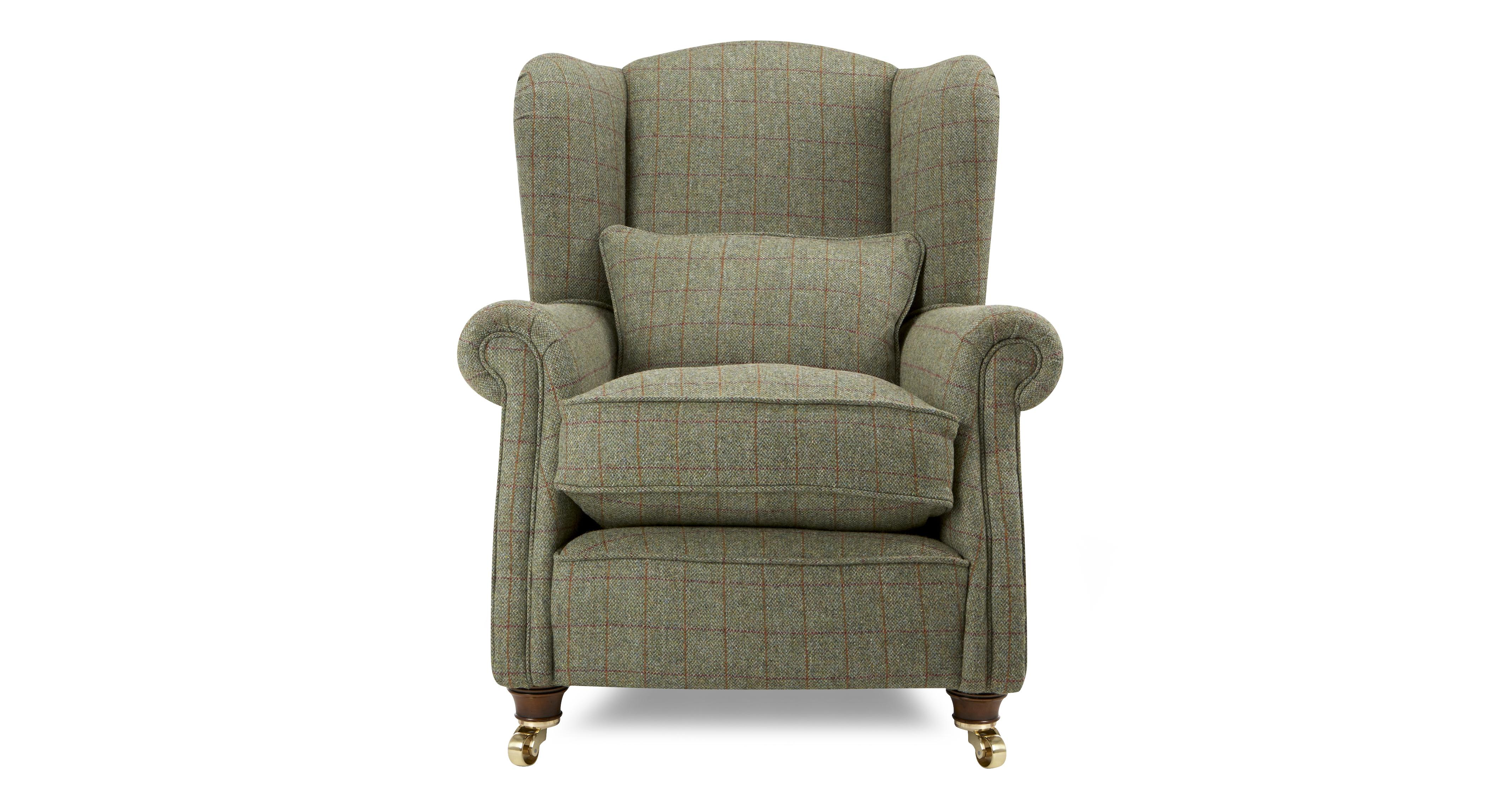 Tweed Chair Loch Leven Tweed Wing Chair Harris Tweed Dfs