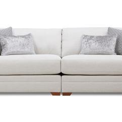 Large Chaise Sofa Dfs Three Cushion Slipcovers Long Beach Gradschoolfairs