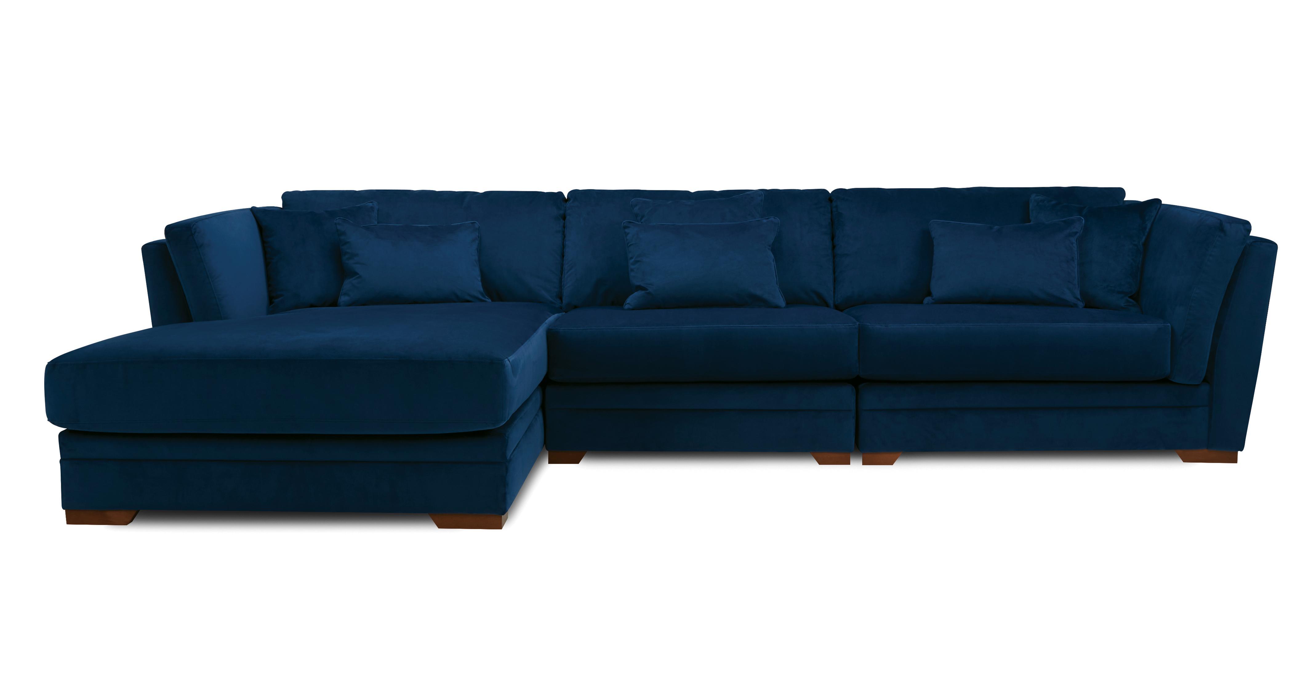 large chaise sofa dfs patio long beach left hand facing