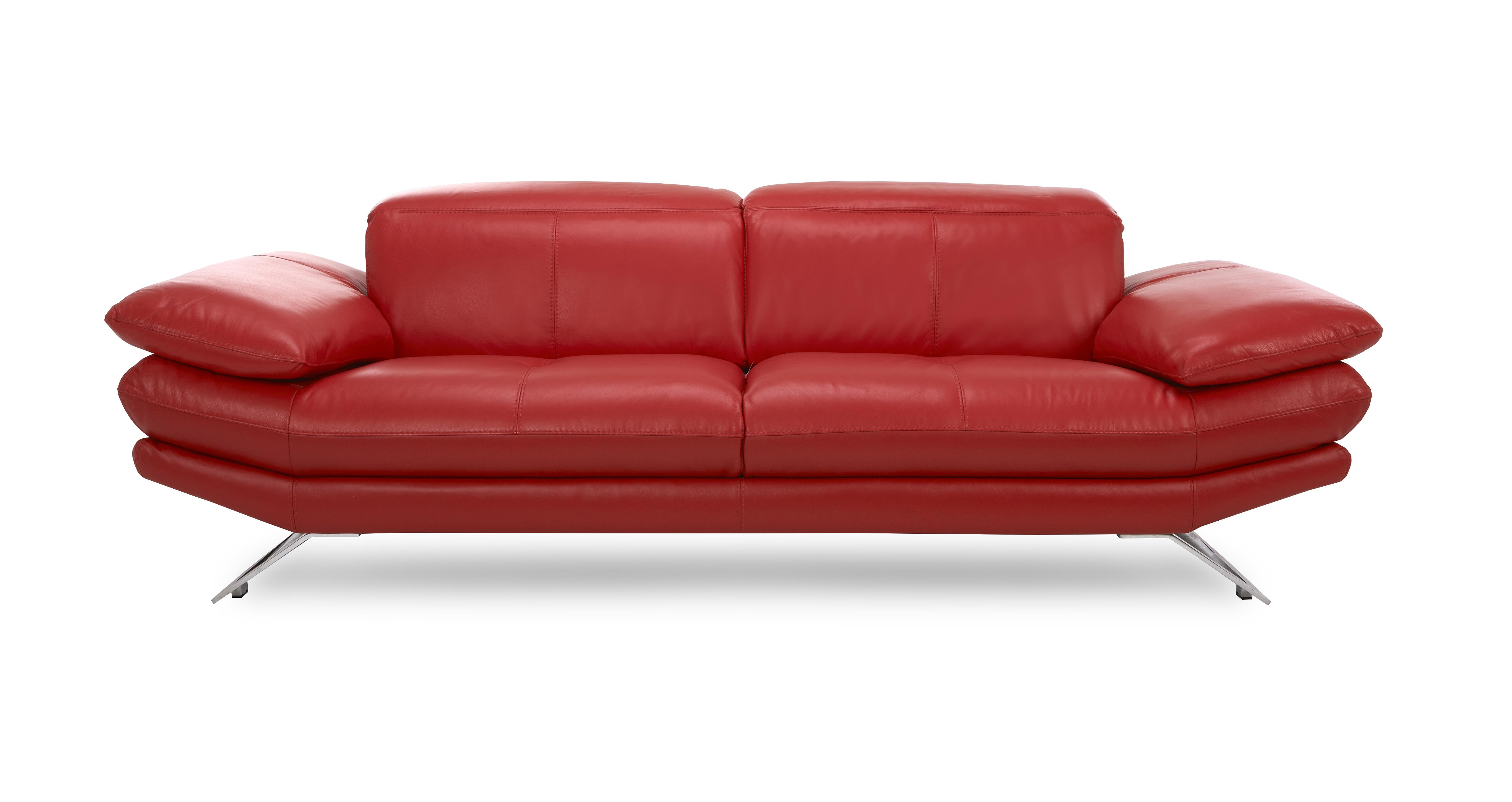 dfs red leather corner sofa bed twin sleeper mattress replacement brokeasshome