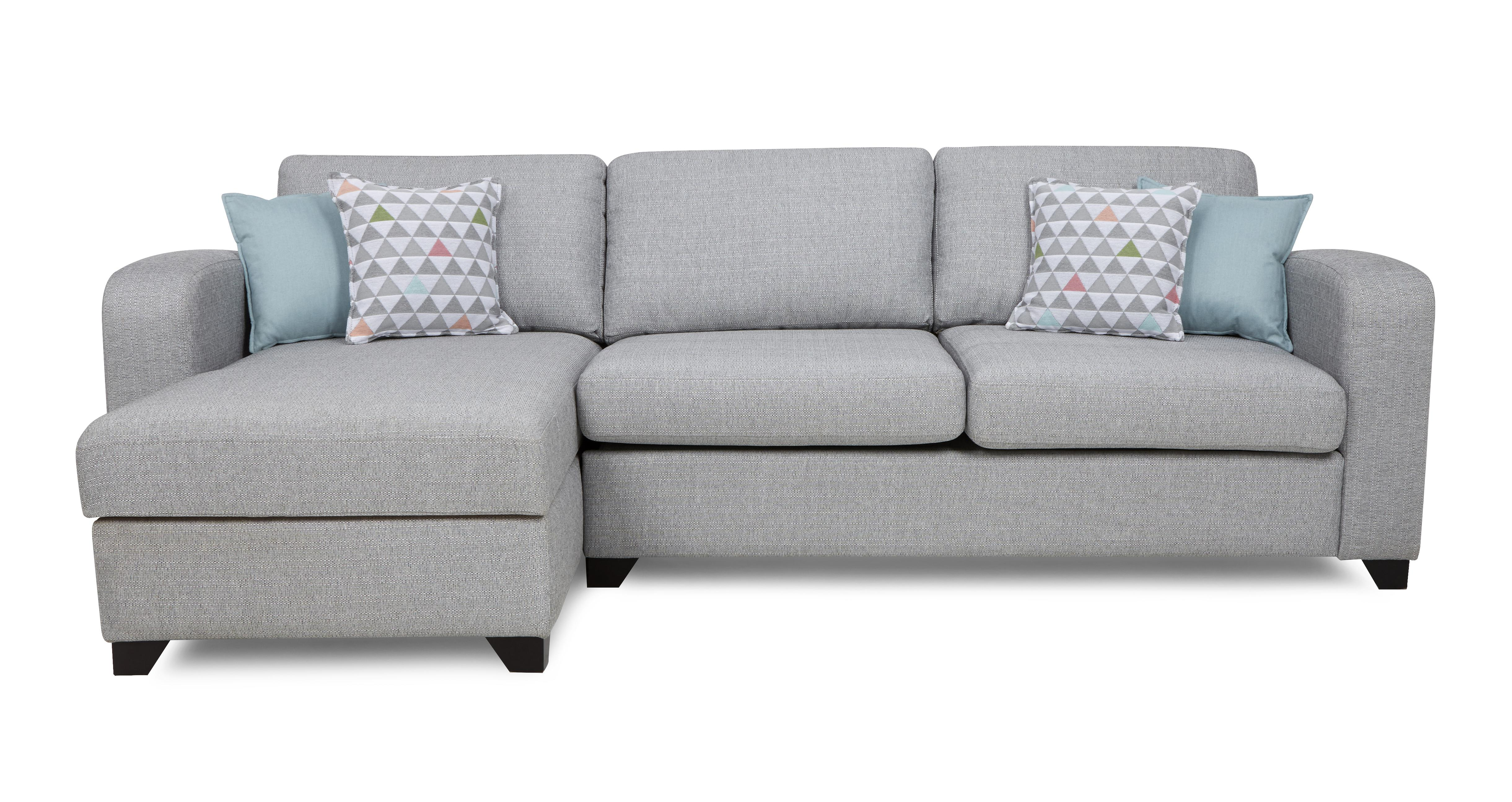chair bed with arms uk purchase chairs online lydia left hand facing chaise end 3 seater sofa dfs