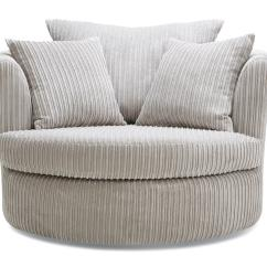 Swivel Chair Large Ivory Covers For Rent Marley Dfs Ireland