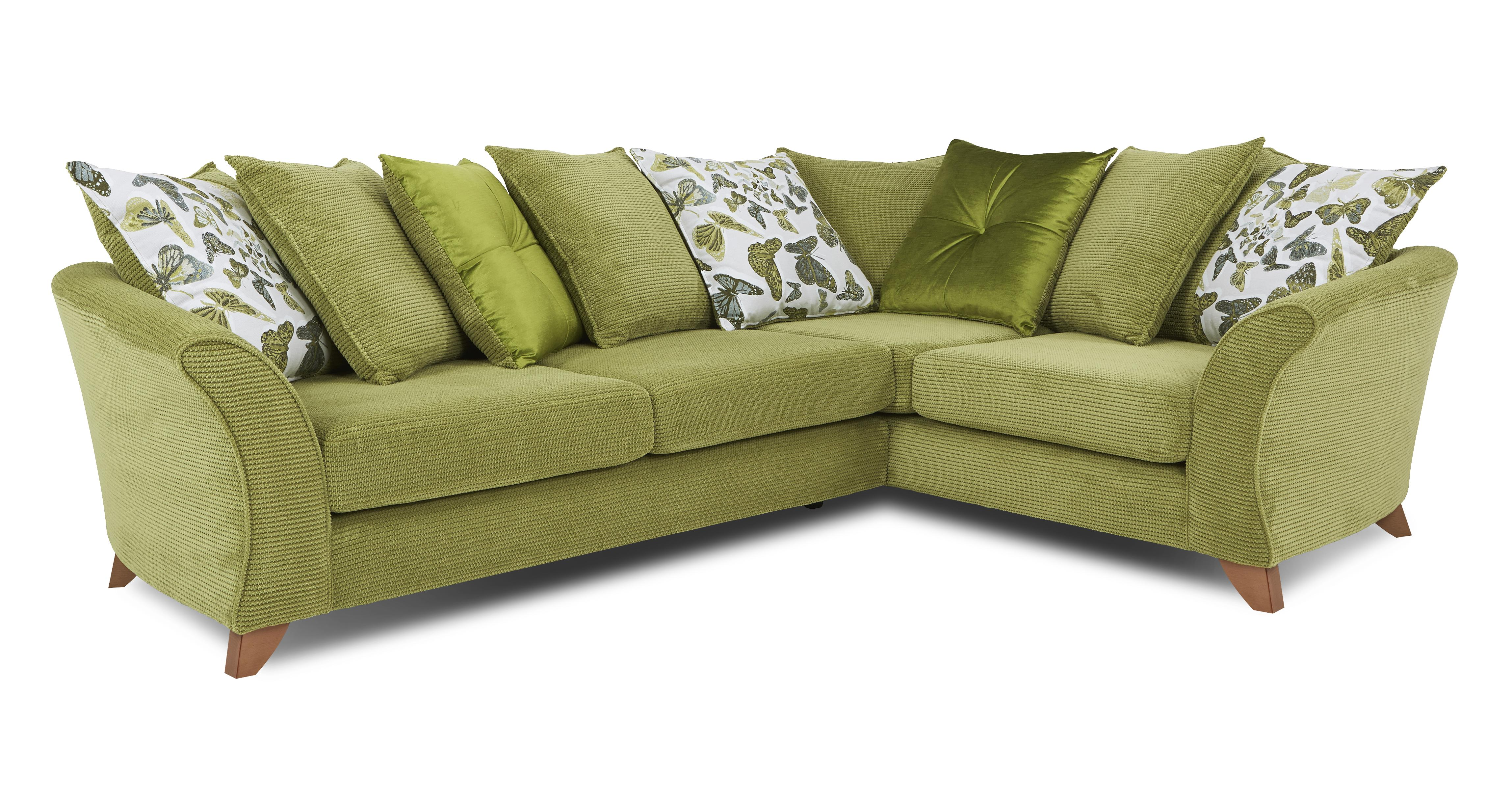 green leather corner sofa bed recliners microfiber lime sofas gradschoolfairs