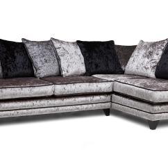 Chesterfield Corner Sofa Velvet Protector From Cat Scratch Dfs Gradschoolfairs