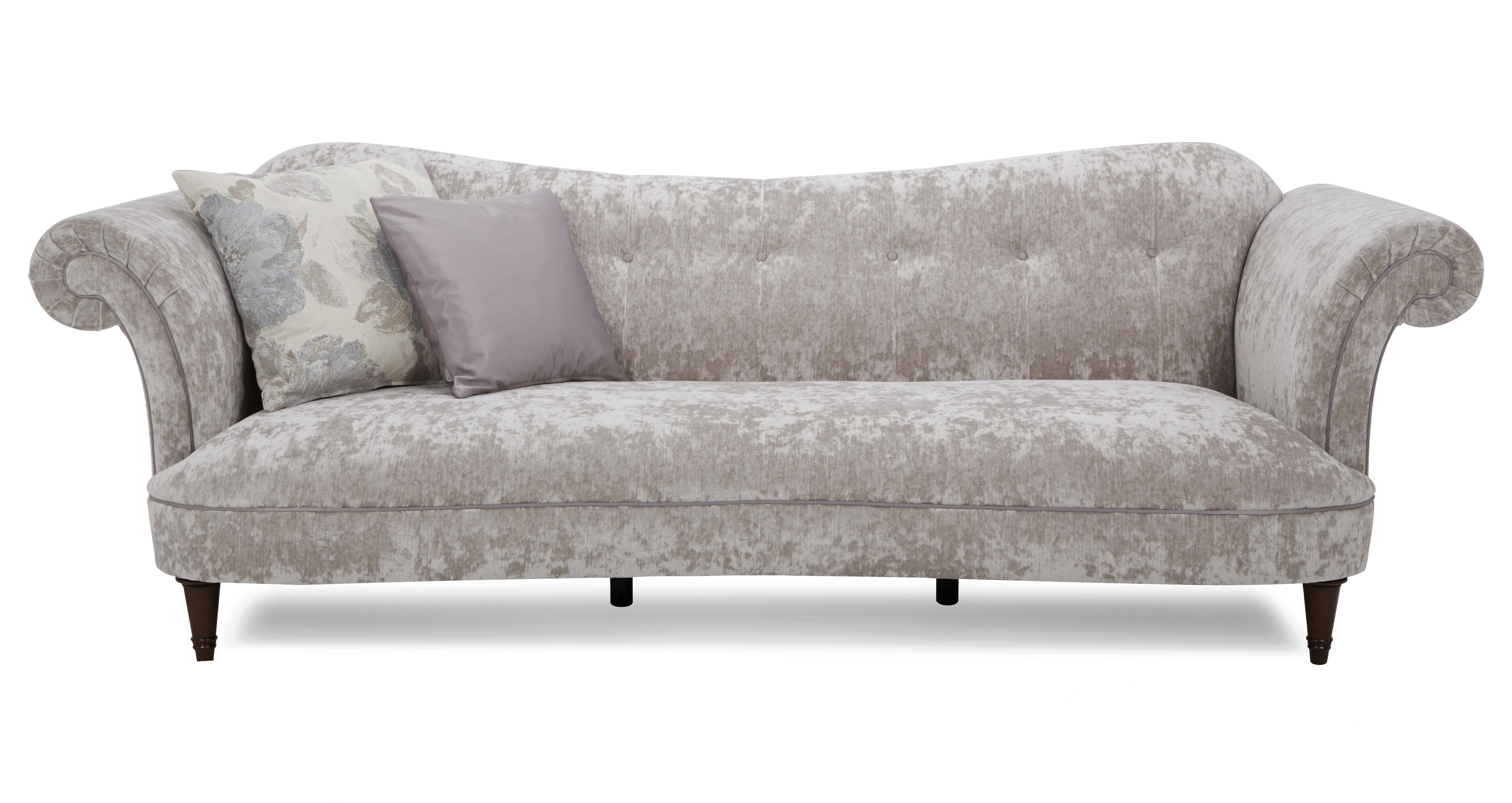 sofa 4 seater long table moray velvet alternative dfs ireland