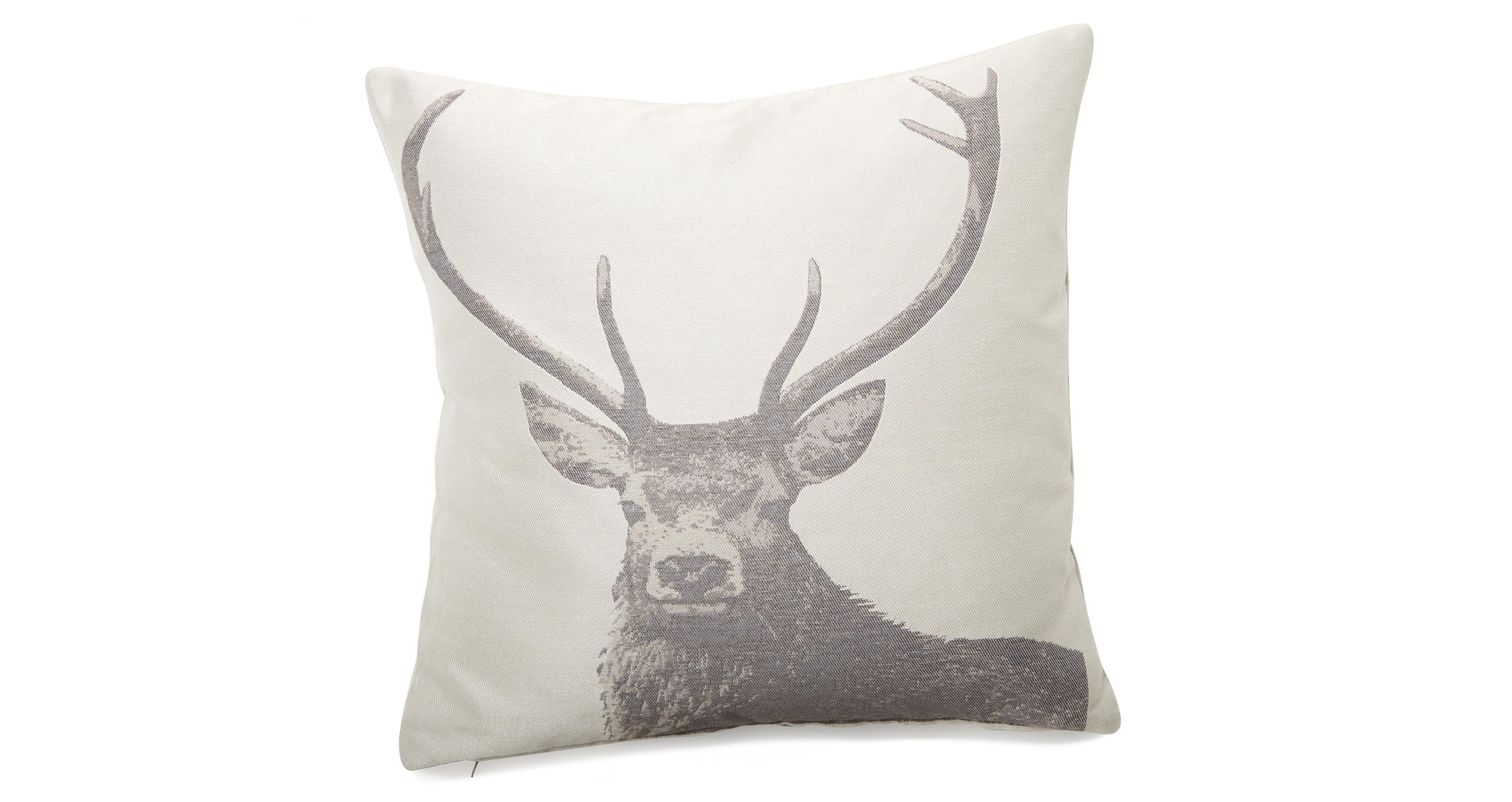 sofa 10 year guarantee steam clean upholstery moray stag scatter cushion | dfs