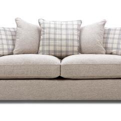 Big Chunky Corner Sofas Decorating Around A Tan Leather Sofa Pillow Back Loose