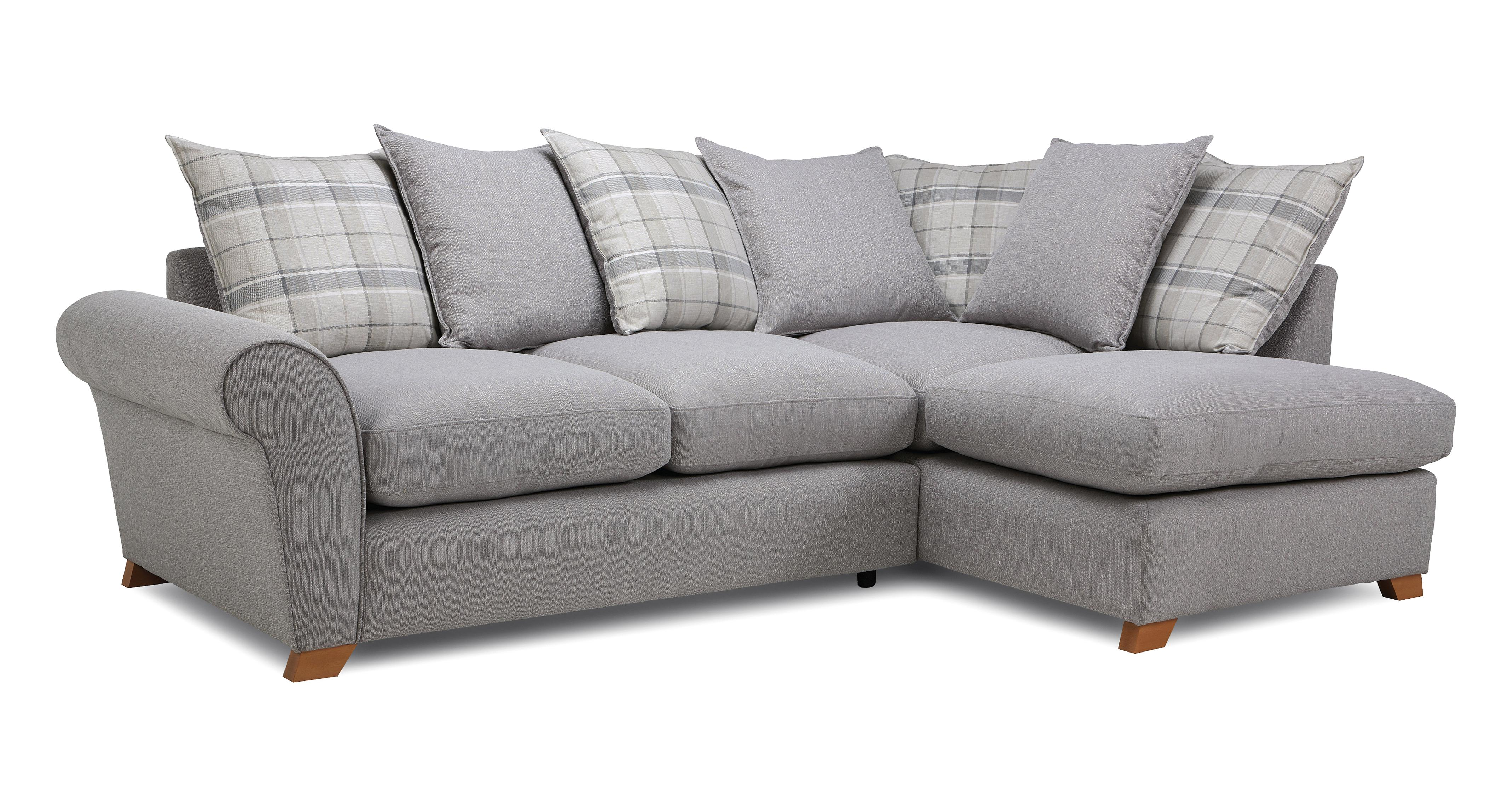 corner sofa dfs martinez kreeli queen sleeper reviews owen pillow back left hand facing arm